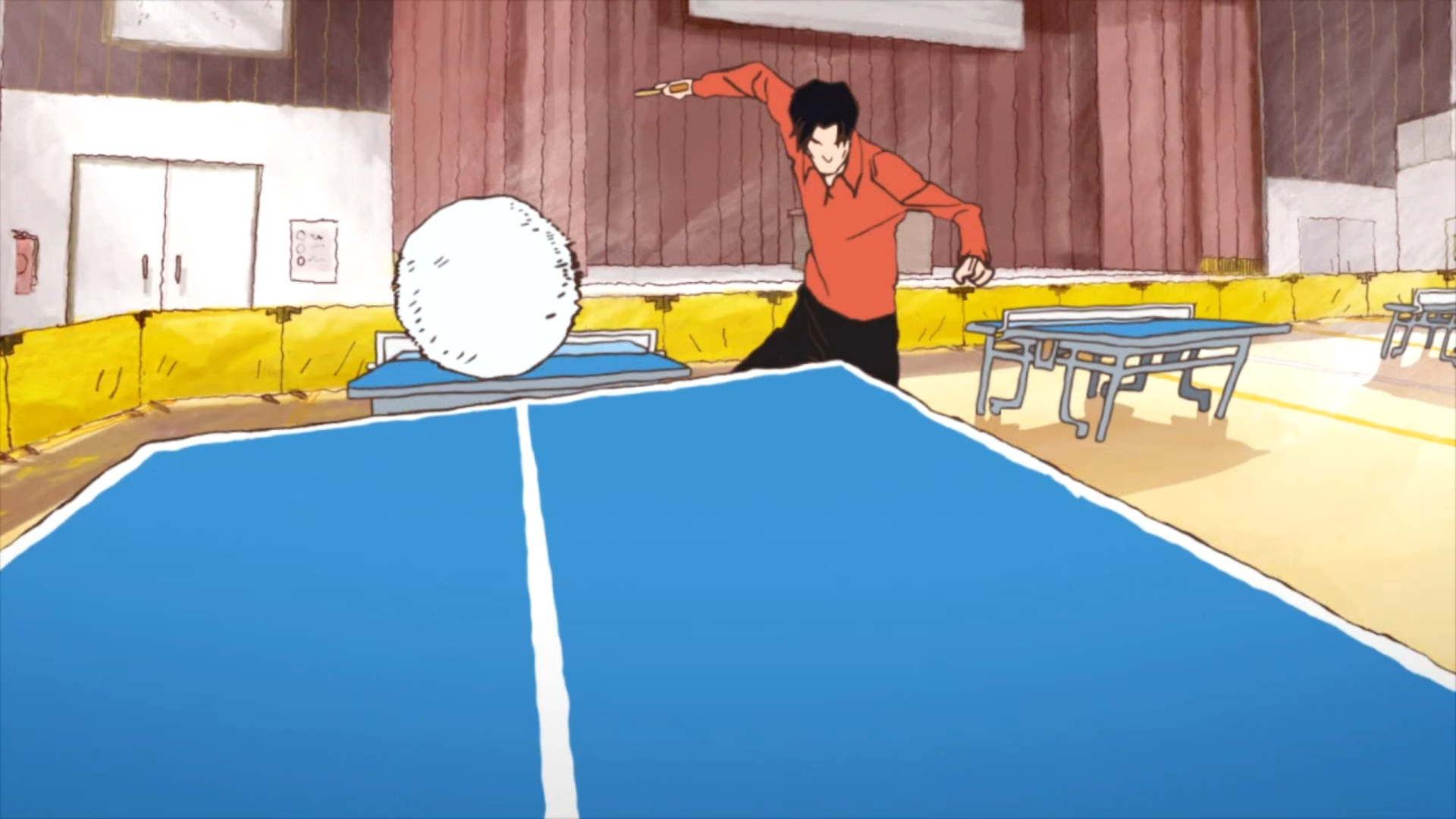 Images From Table Tennis The Animation 1470856 Hd Wallpaper