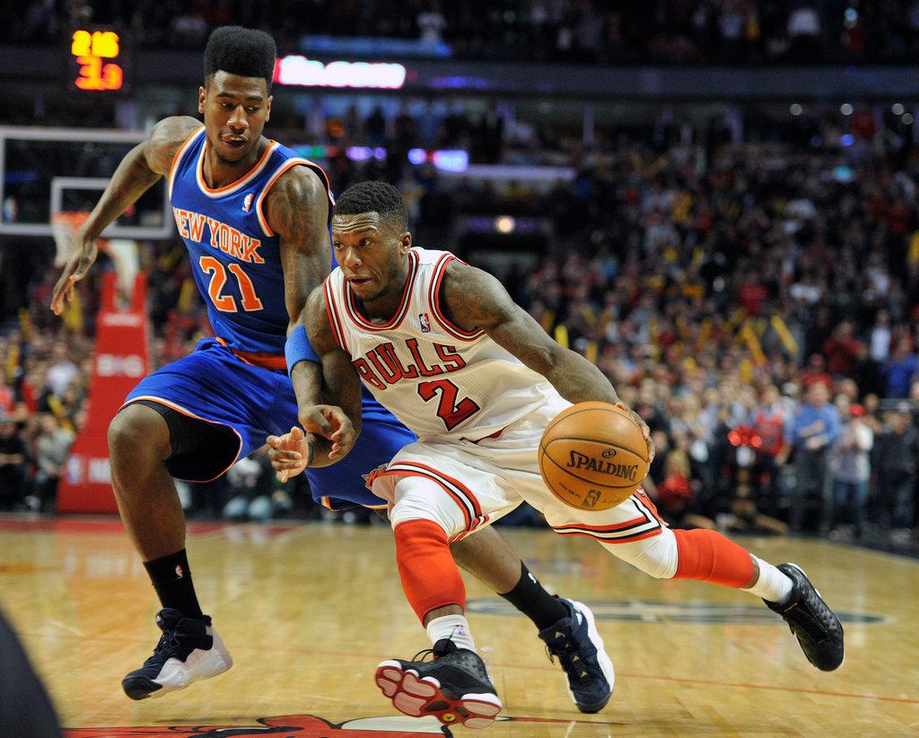 Nate Robinson Helps Bulls End Knicks Winning Streak Pemain