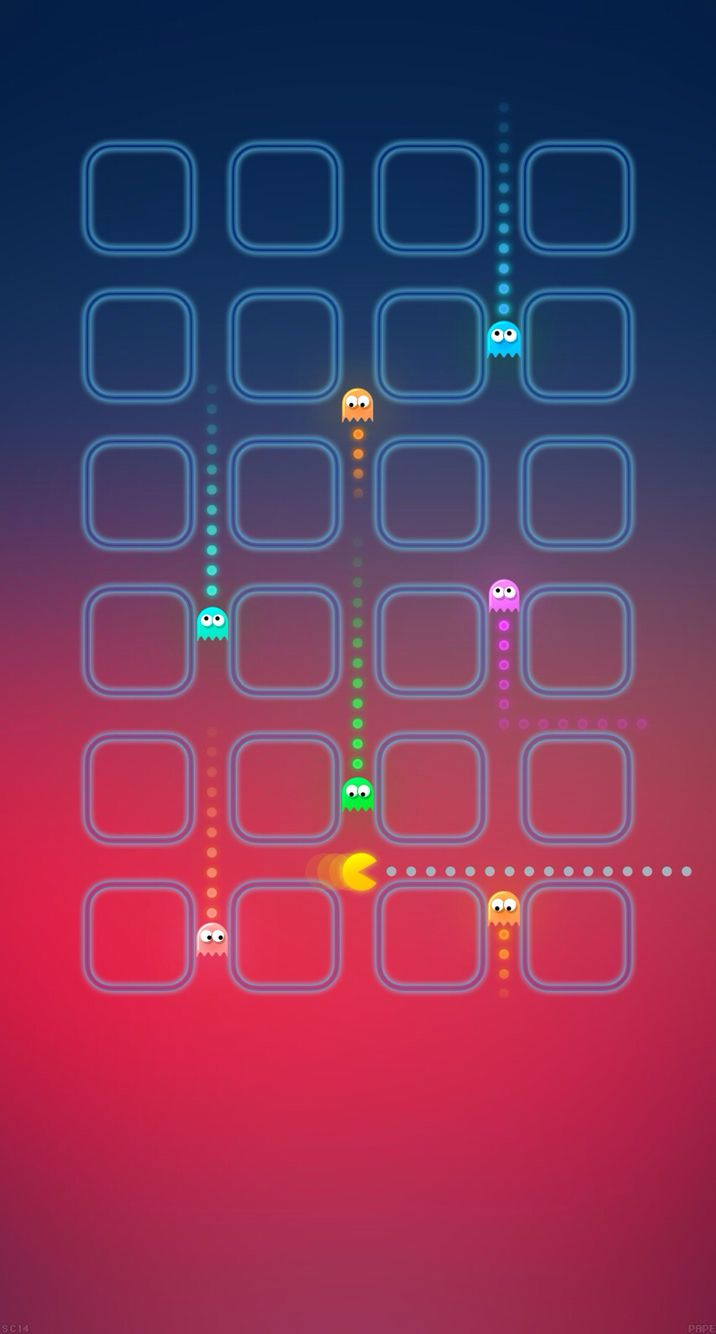 Apple Iphone X Pac Man 1474407 Hd Wallpaper Backgrounds Download