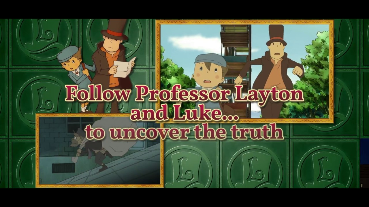 Professor Layton And The Curious Village Is Coming Professor