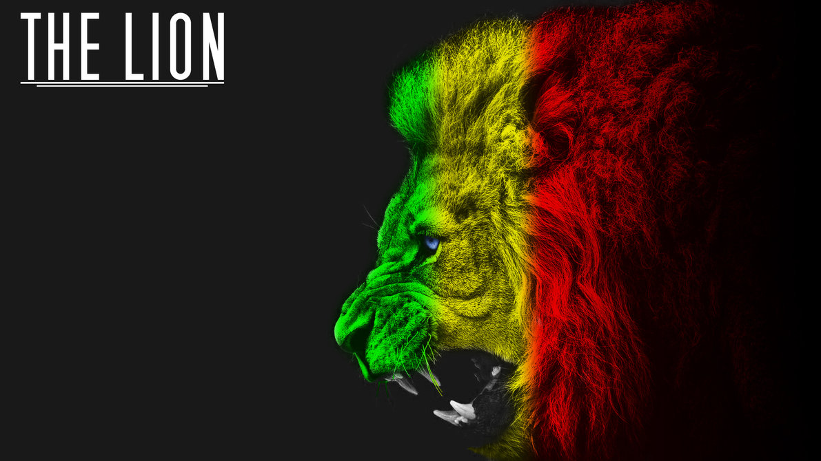 Rasta Lion Wallpaper Sf - Rasta Lion , HD Wallpaper & Backgrounds
