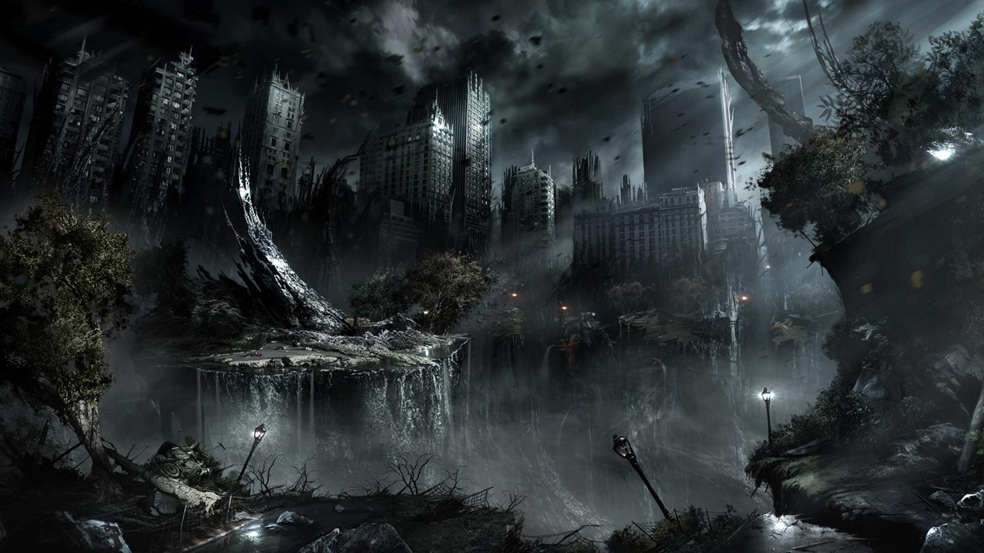 Aftermath Apocalyptic Wallpaper Hd 1481318 Hd