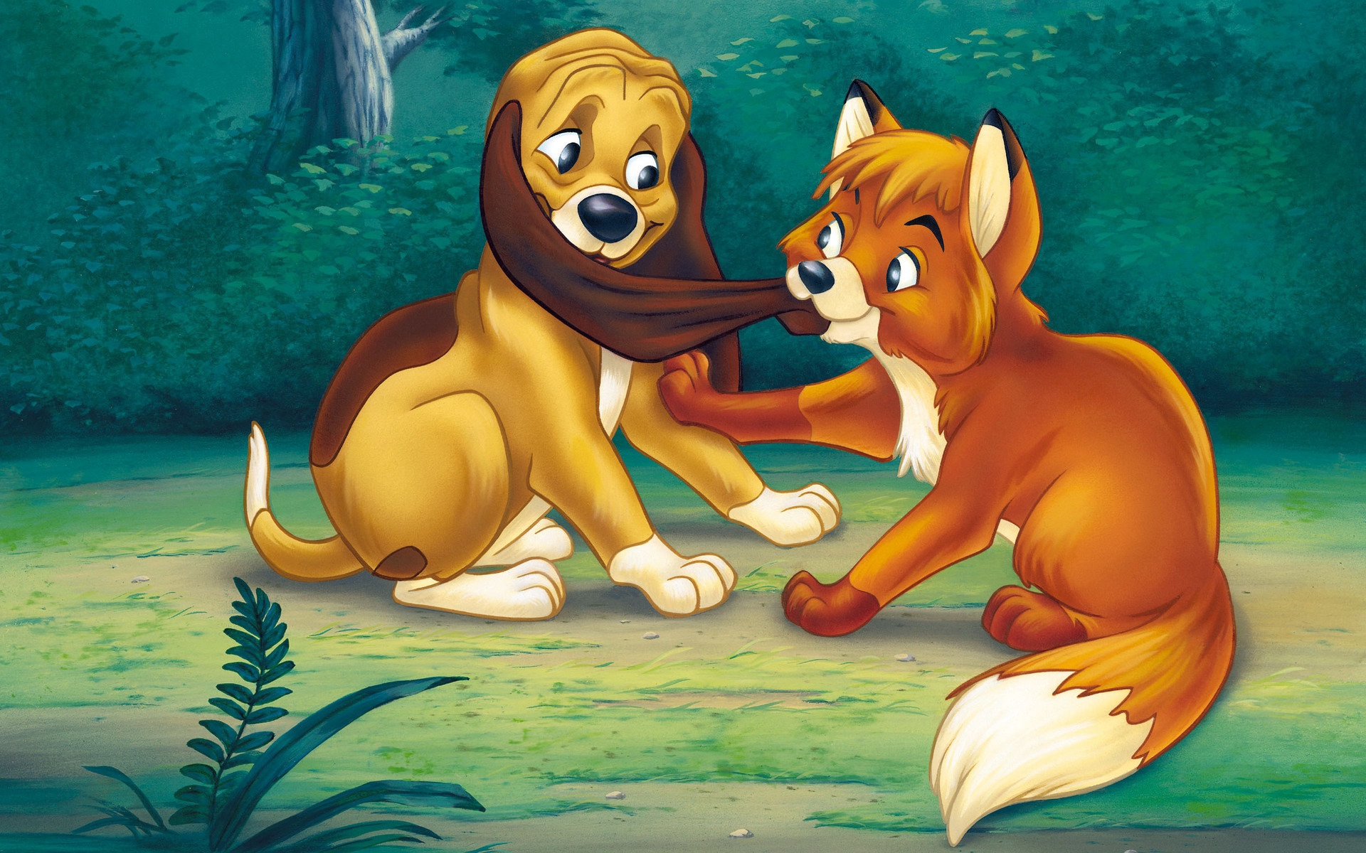 Wallpaper The Fox And The Hound Tod Copper Fox And The Hound