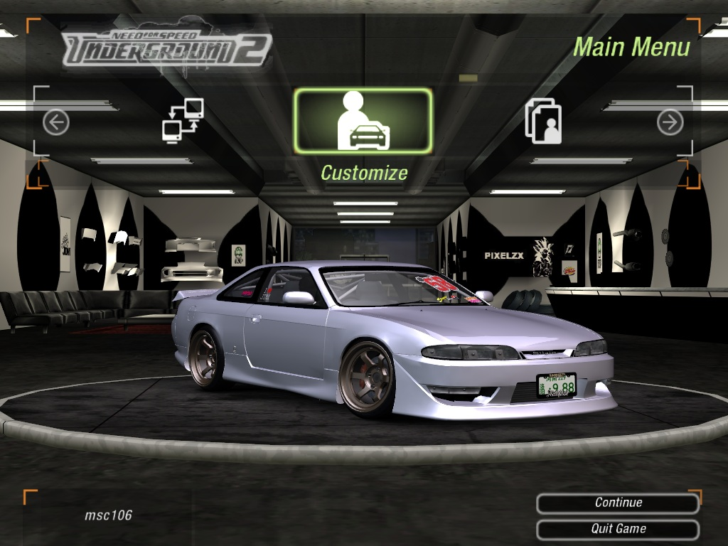 Nissan Silvia S14 Need For Speed 1485104 Hd Wallpaper Backgrounds Download