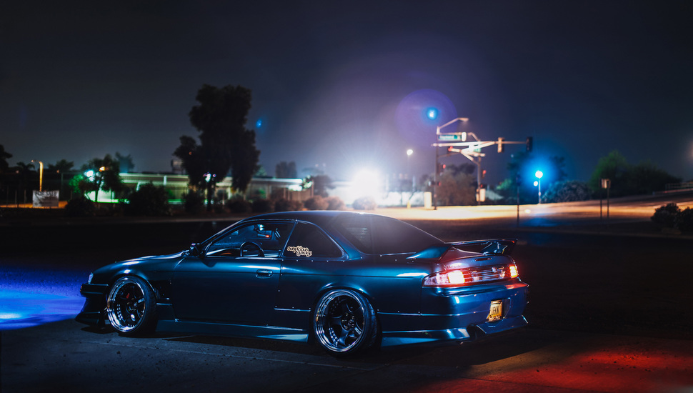 S14 Nissan Silvia Car Tuning Nissan Auto Night Jdm