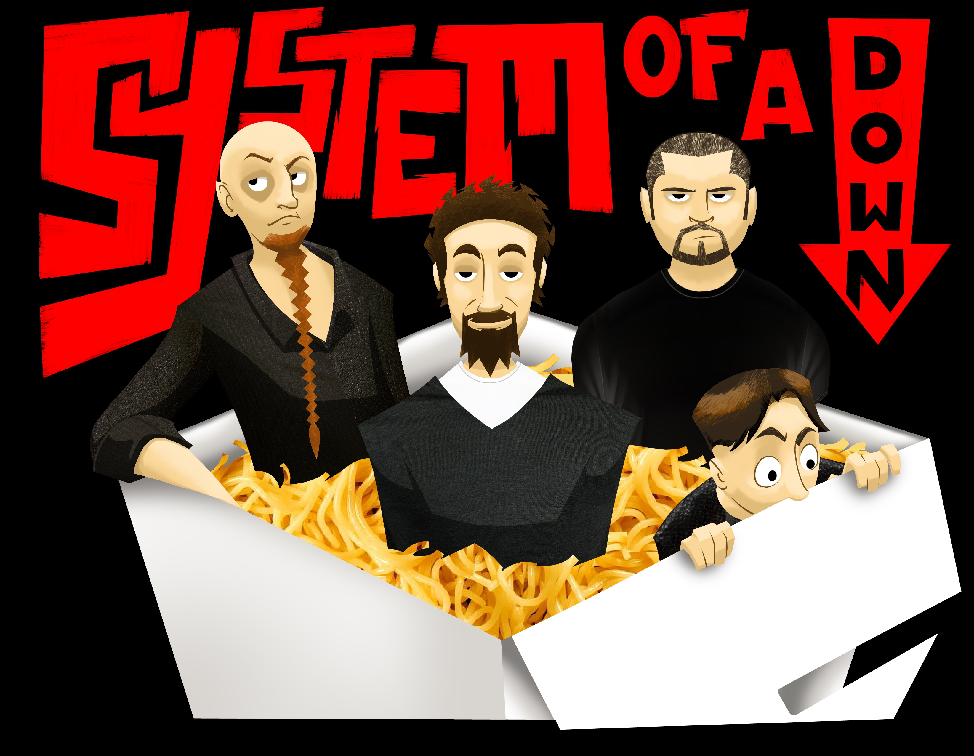 System Of A Down Illustration 1488777 Hd Wallpaper