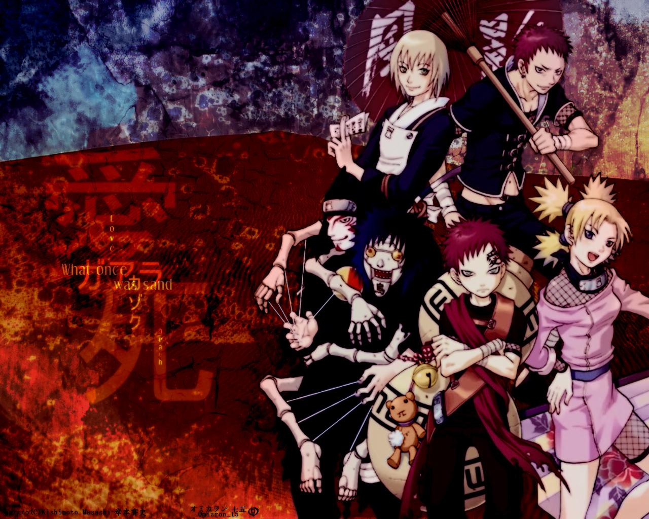 Naruto Wallpaper Sabaku No Gaara 1492182 Hd Wallpaper
