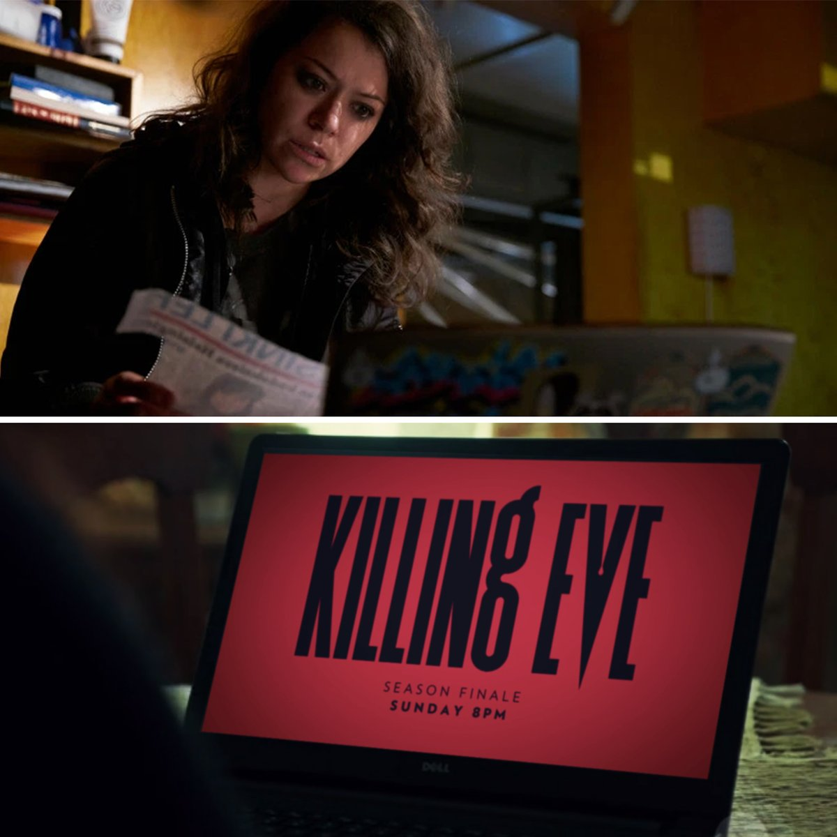 51 Replies 427 Retweets 3 313 Likes Orphan Black Mk Laptop