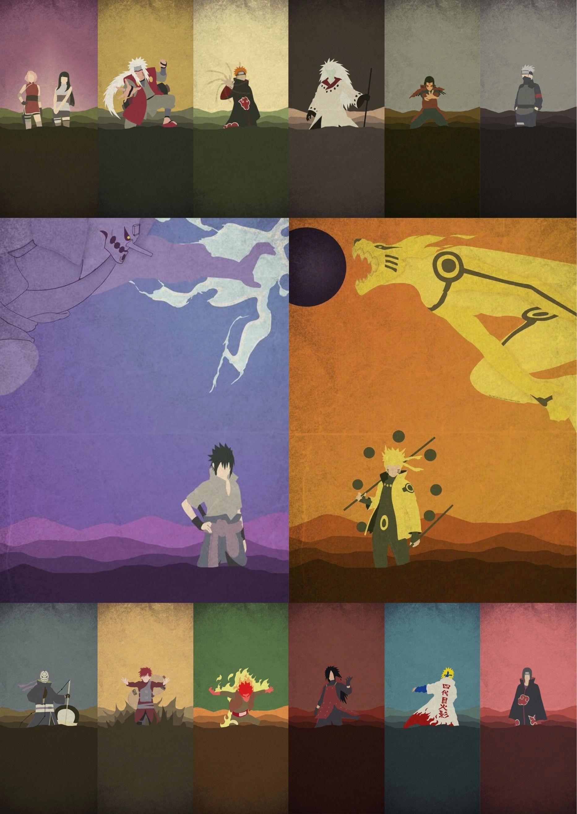 10+ Naruto Minimalist Iphone Wallpaper - Bizt Wallpaper