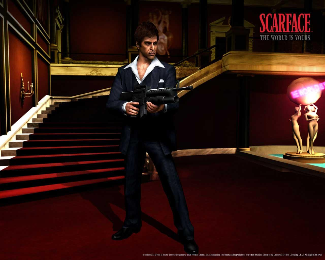 Game Wallpapers Scarface The World Is Yours Tony Montana