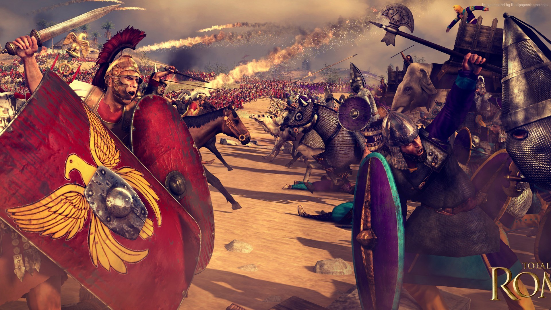 Total War Rome Ii Wallpaper Games Total War Rome 2 4k 1494513