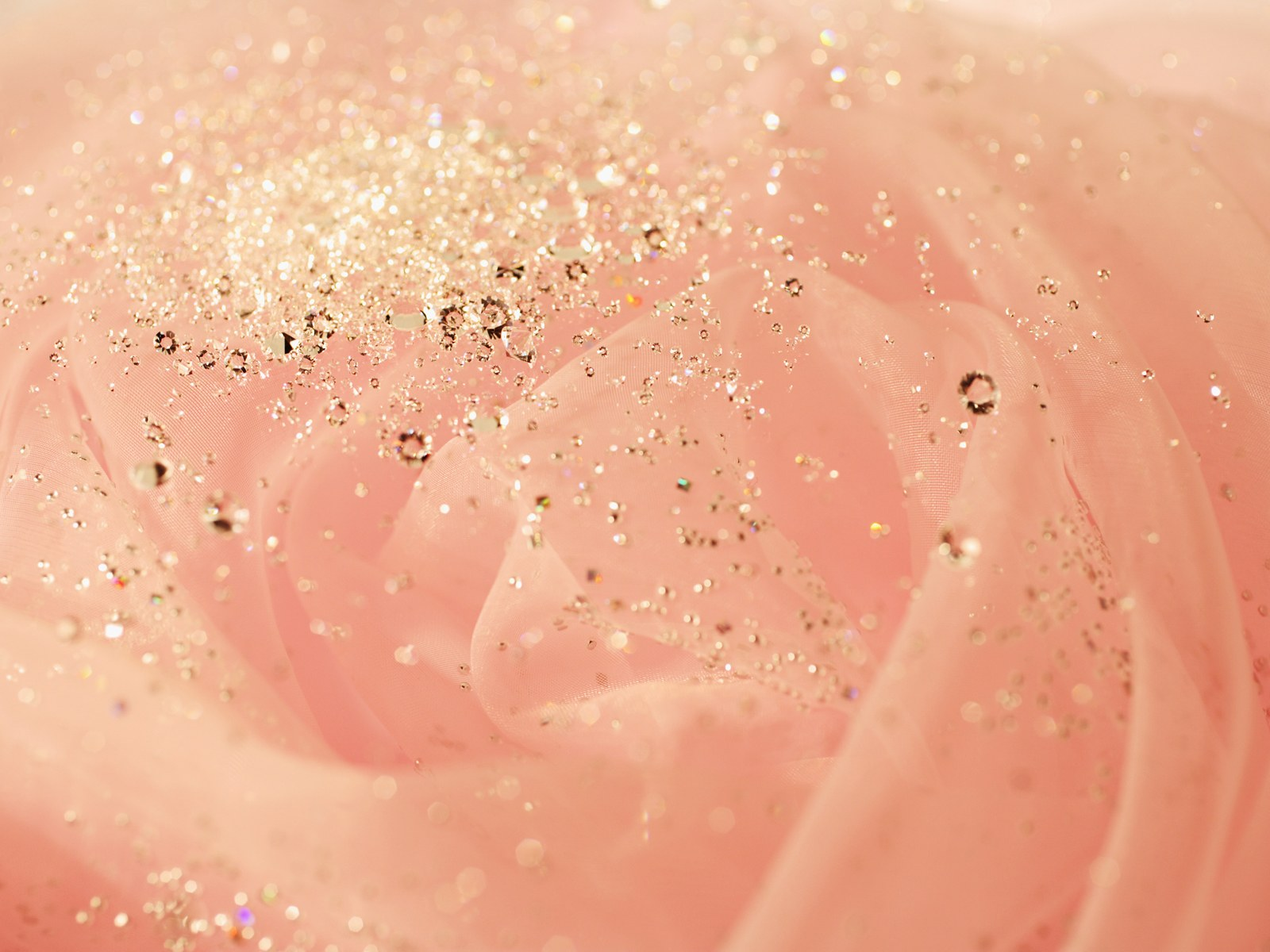 Rose Gold Diamond Wallpaper High Resolution Romantic Background
