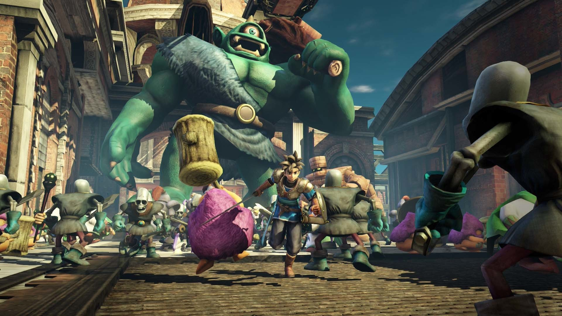 Dragon Quest Heroes Hd Wallpapers Dragon Quest Heroes The World