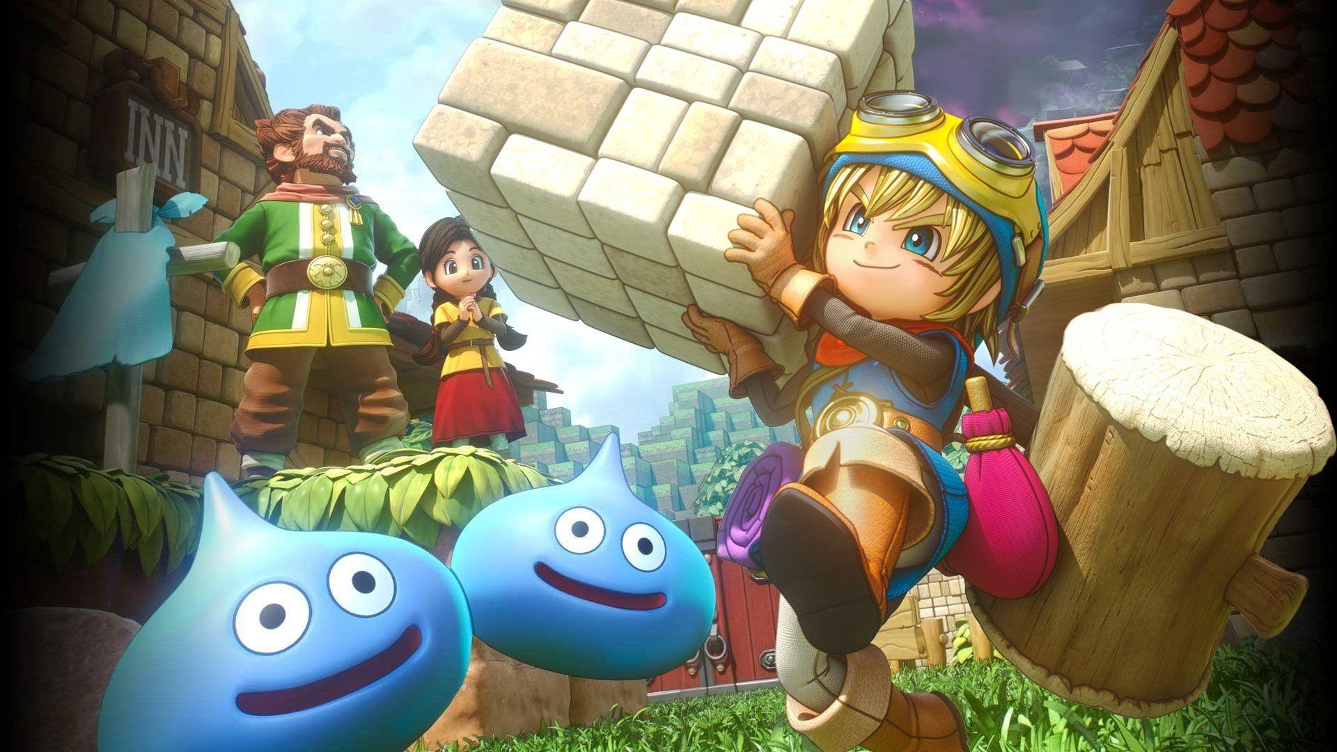 4 Dragon Quest Builders Hd Wallpapers Dragon Quest Builders
