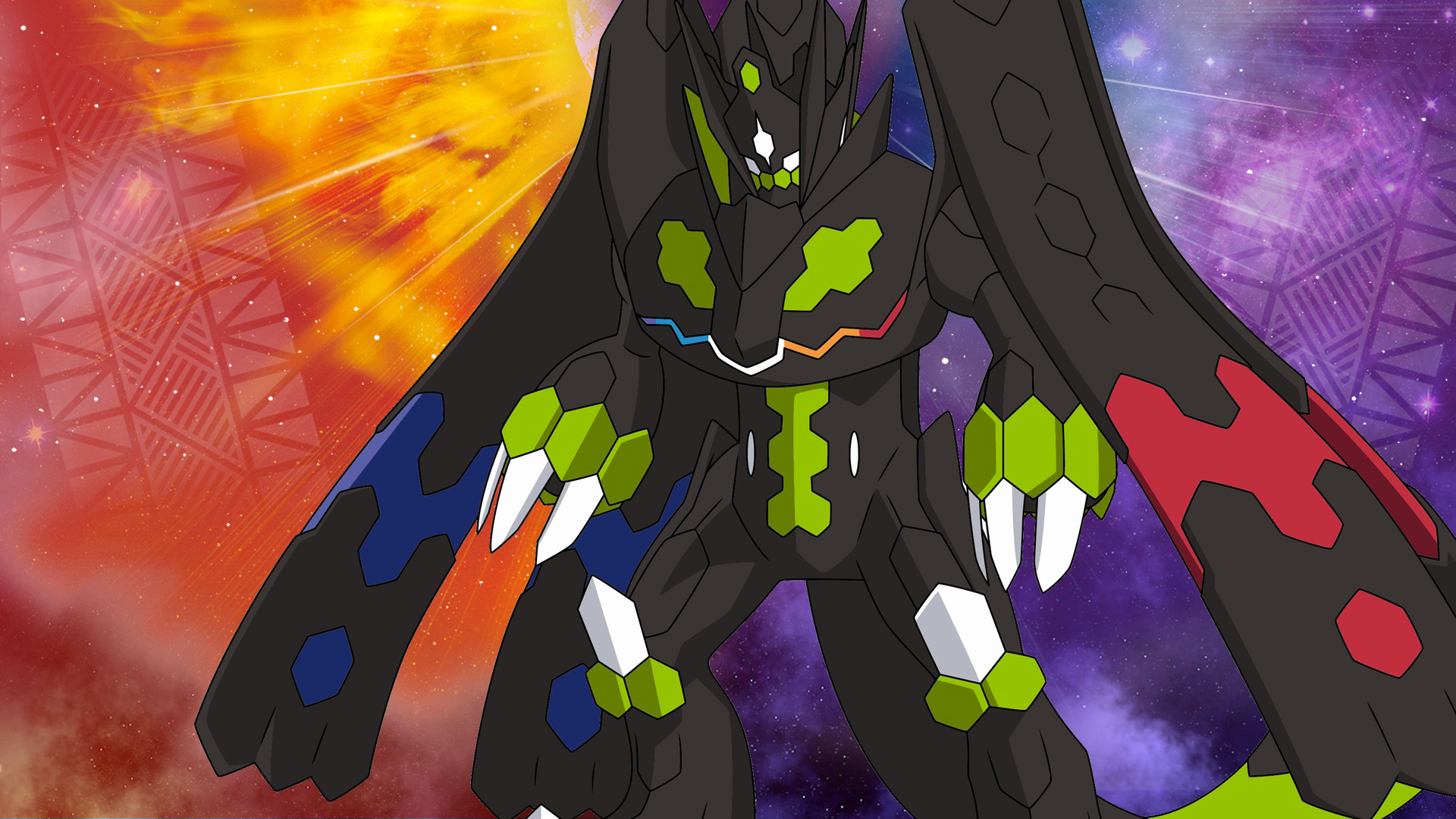 Pokemon Ultra Sun & Moon - Pokemon Ultra Sun Zygarde , HD Wallpaper & Backgrounds