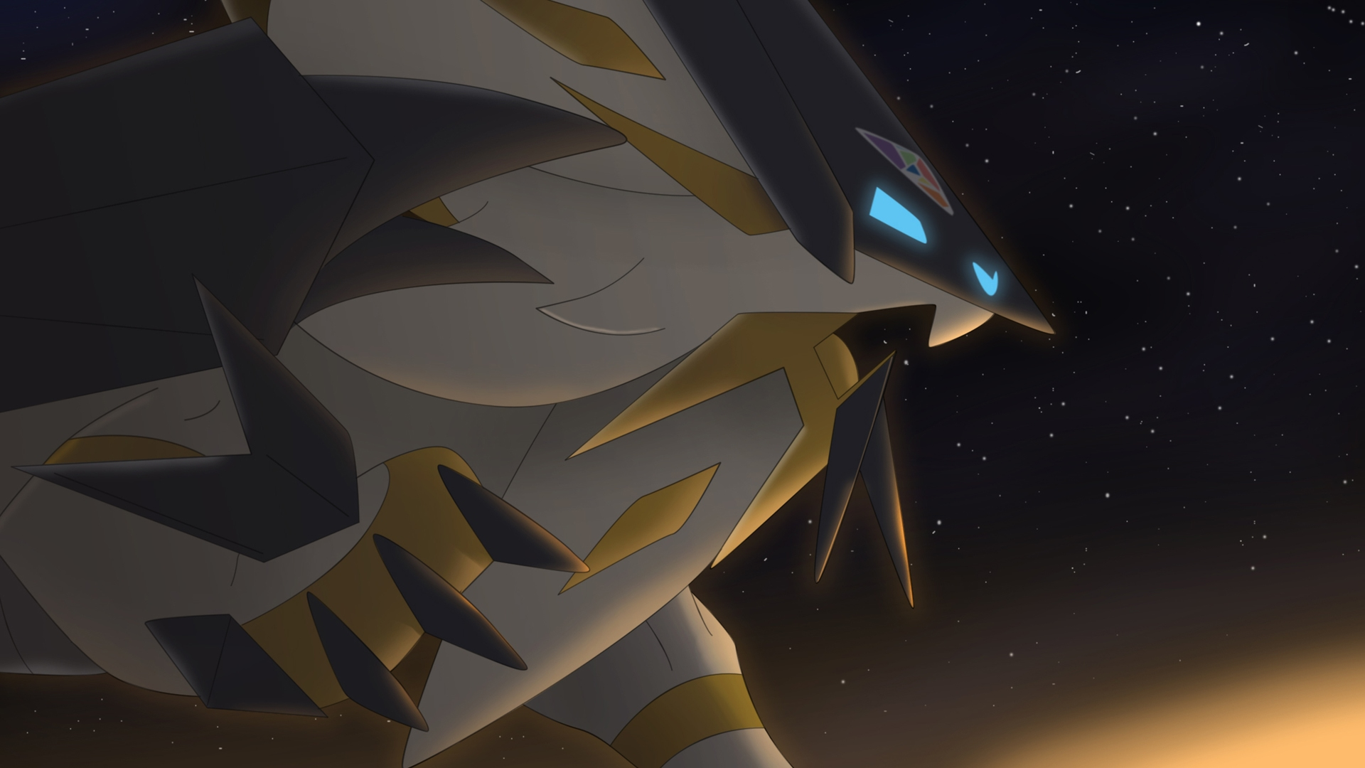 Solgaleo Dusk Mane Necrozma Pokemon Ultra Sun And Ultra - Ultra Solgaleo , HD Wallpaper & Backgrounds
