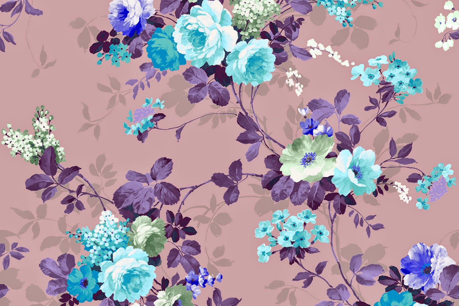 Pink Vintage Floral Wallpaper Cute Spring Wallpaper For Desktop 150563 Hd Wallpaper Backgrounds Download