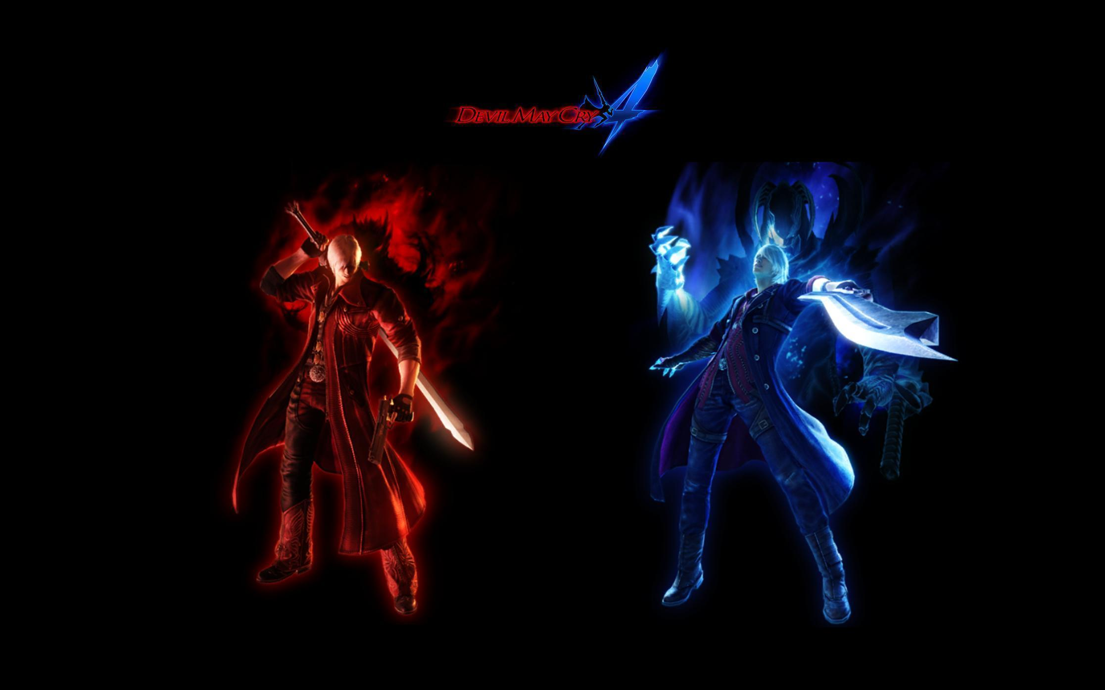 Wallpapers For Devil May Cry 4 Dante Devil Trigger Devil May Cry