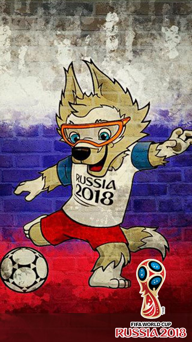 Wallpaper Fifa World Cup 2018 For Iphone X - Mascot World Cup 2018 , HD Wallpaper & Backgrounds