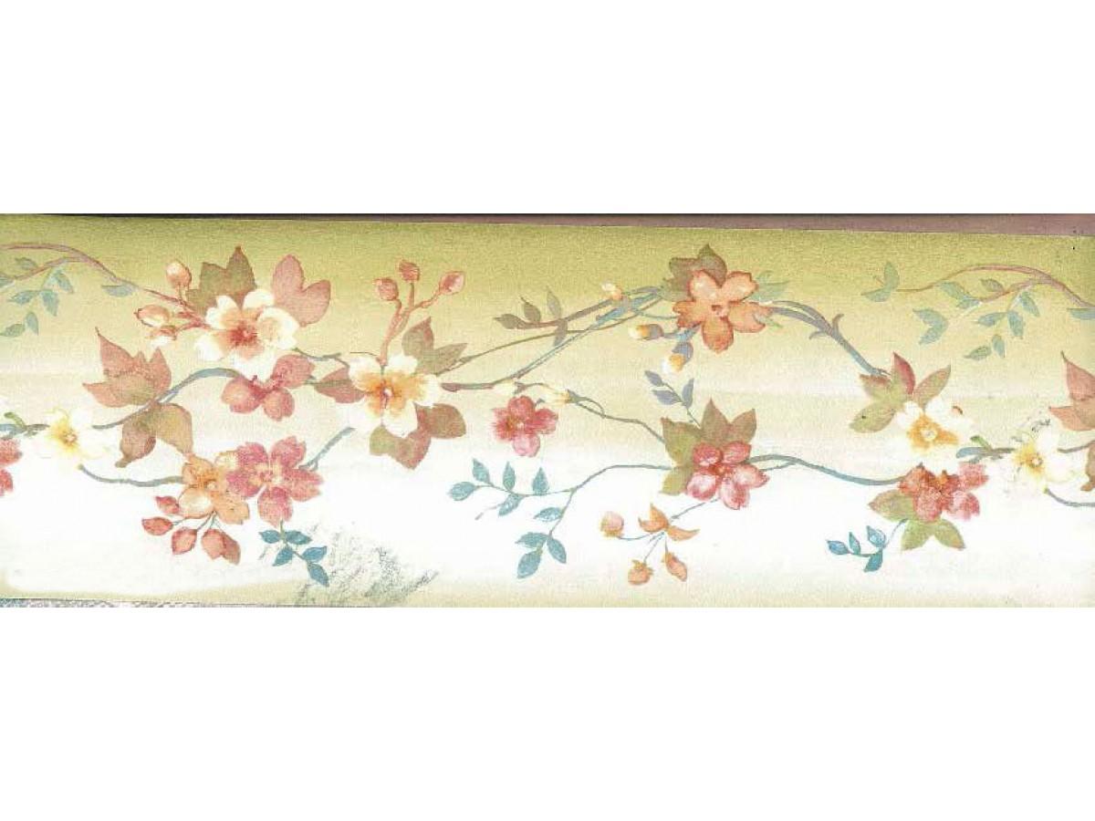 Garden Wallpaper Borders - Tiny Border Roses , HD Wallpaper & Backgrounds