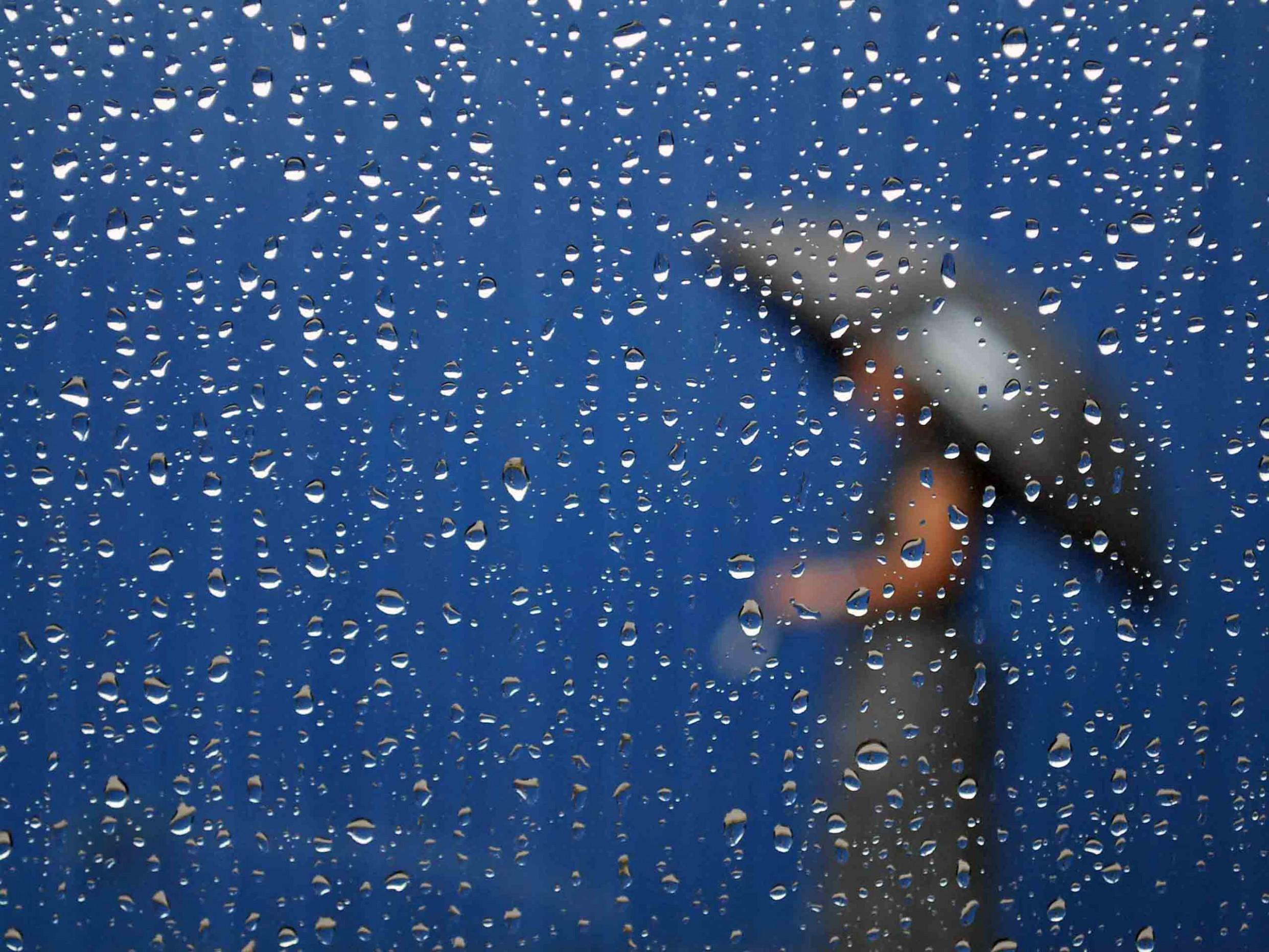 15 153564 3d rain wallpaper woman in the rain