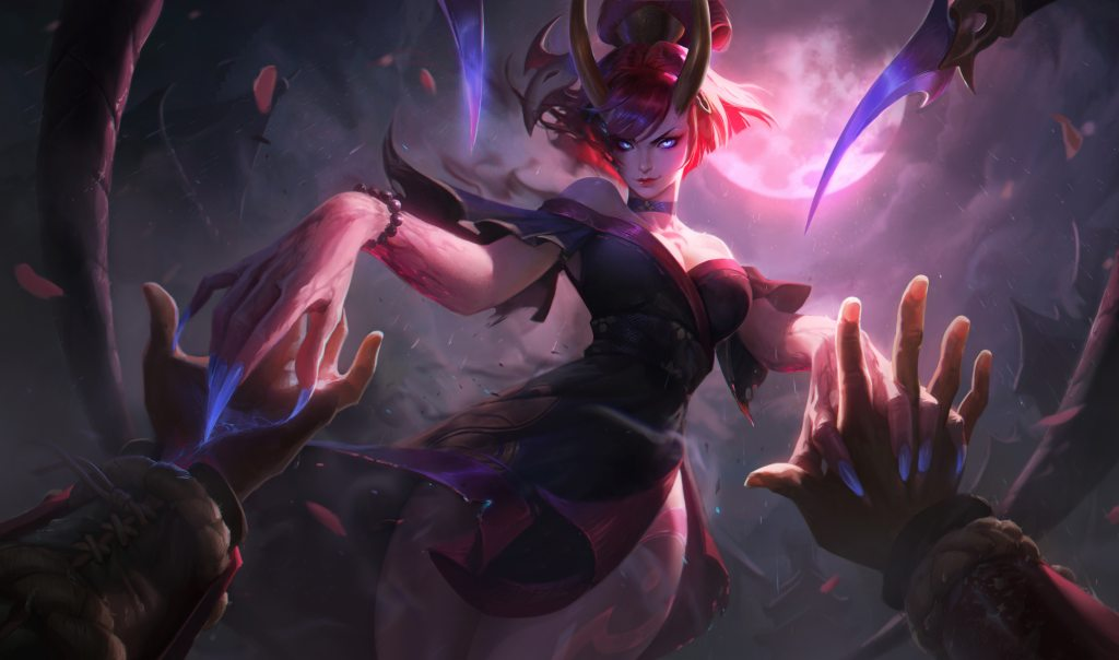 Blood Moon Evelynn Splash Art 4k Hd Wallpaper Background Blood Moon Evelynn Splash Art 154107 Hd Wallpaper Backgrounds Download