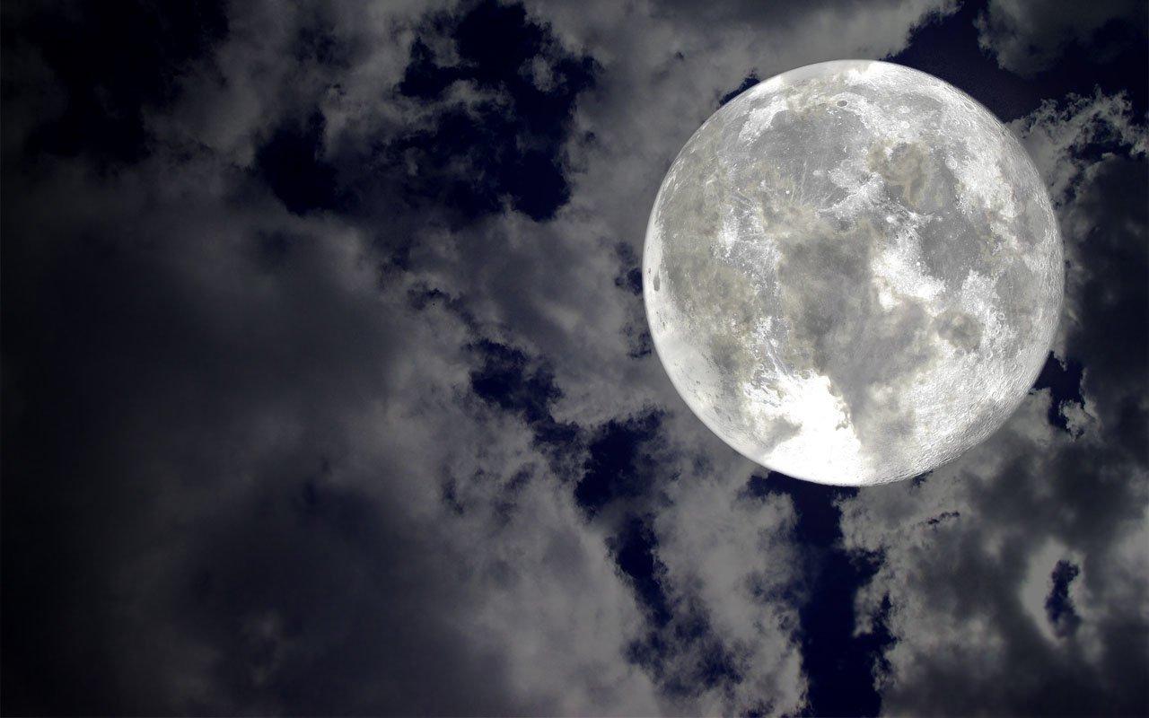 224 Moon Hd Wallpapers - Picsart Moon Background Hd , HD Wallpaper & Backgrounds