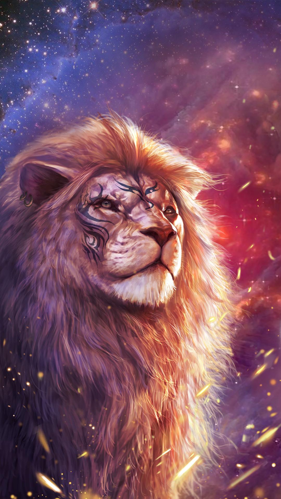 Lion Wallpaper Iphone X , HD Wallpaper & Backgrounds