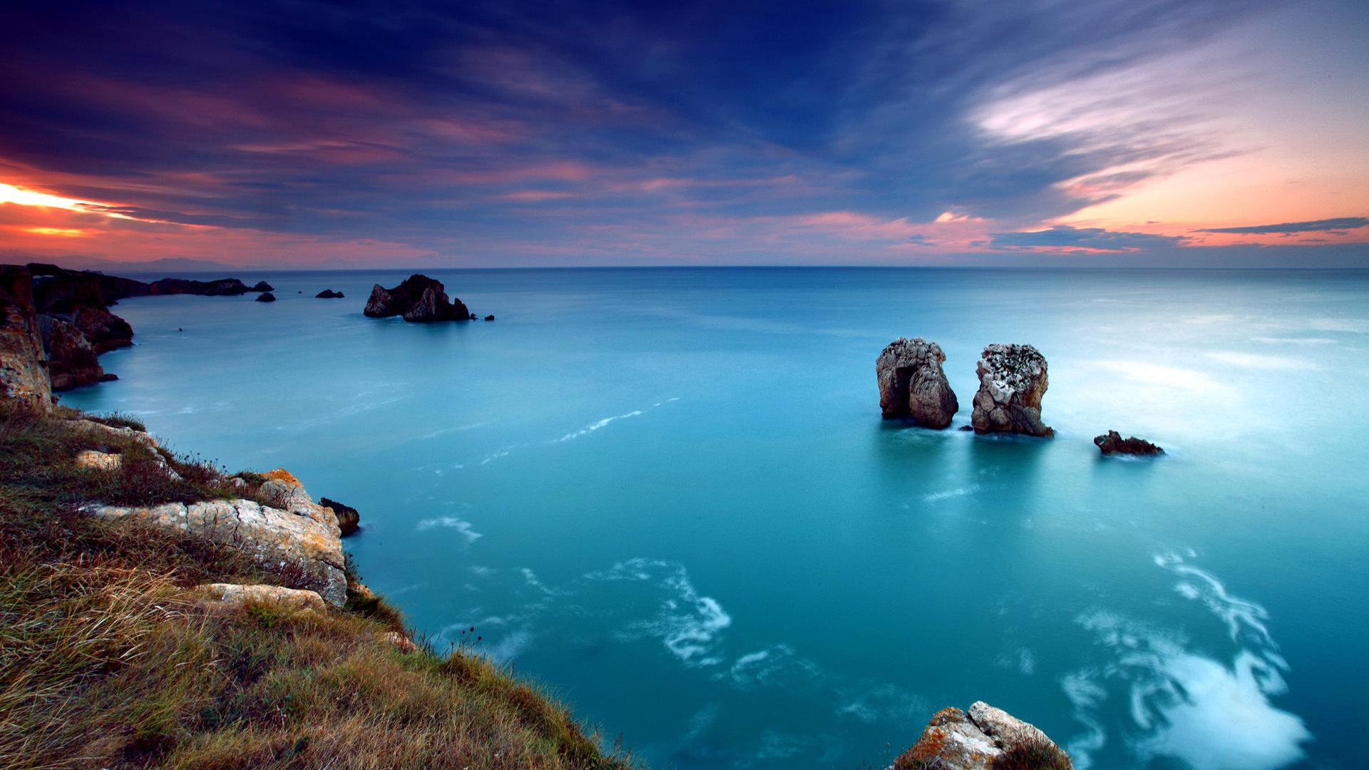 Awesome Landscape Wallpaper1920 1080 Ocean Hd 155532