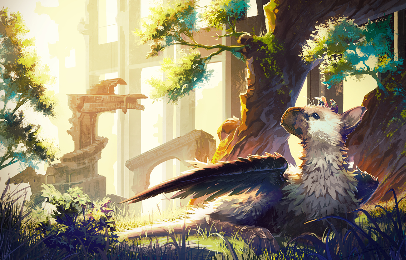 The Last Guardian Trico Wallpaper Background For Laptop Last