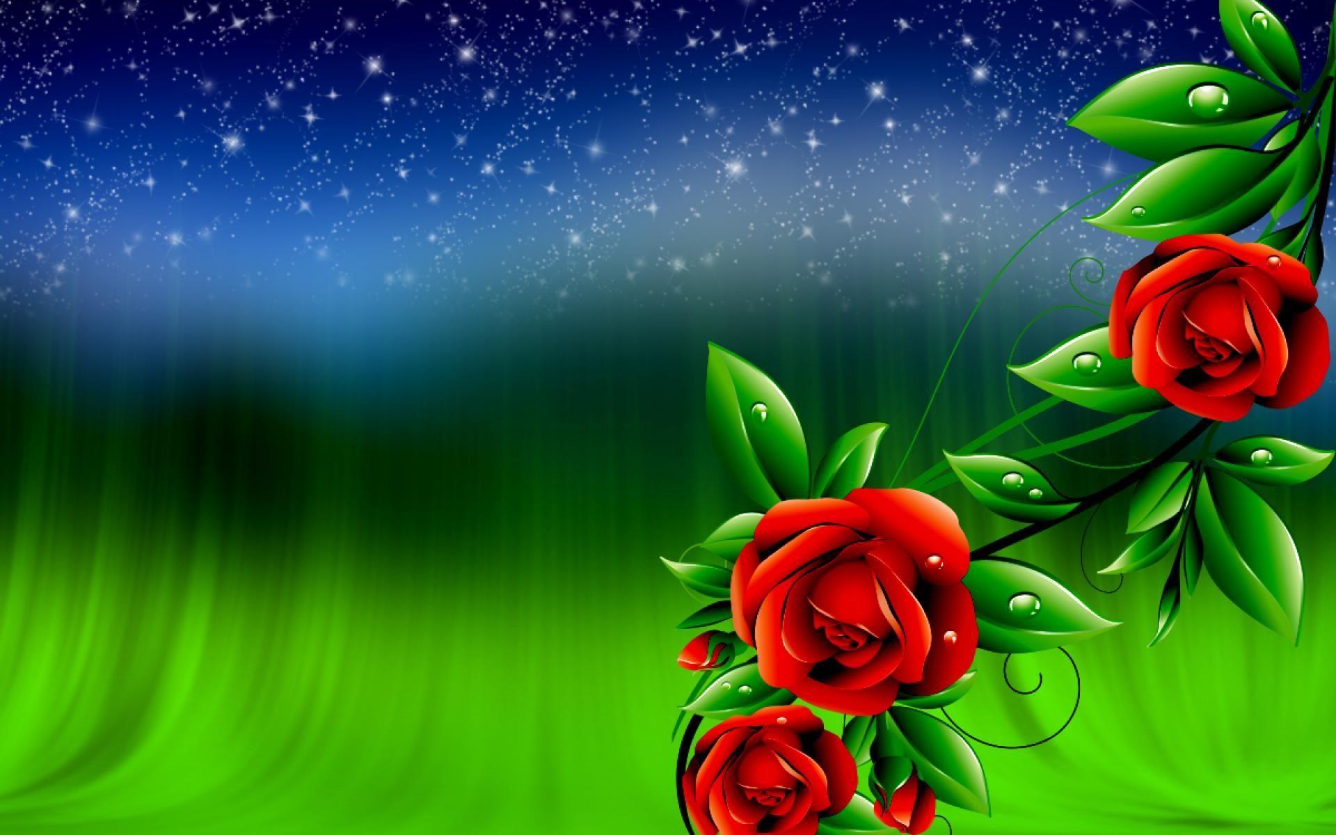 Rose Flower Background Hd ...