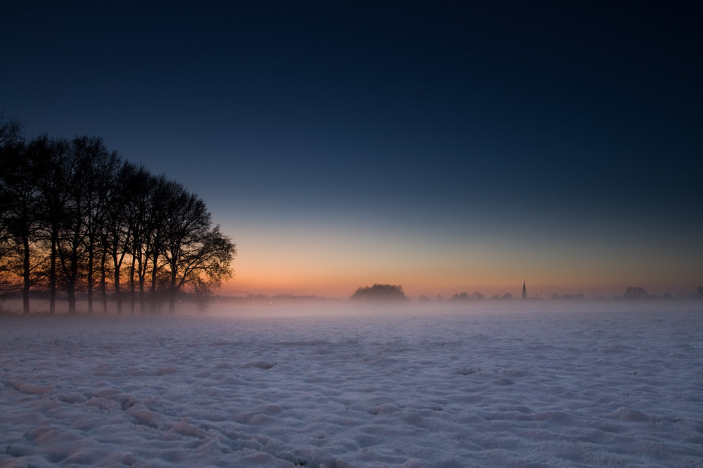 Dutch Winter Landscape Wallpaper Landscapes With Rule Of