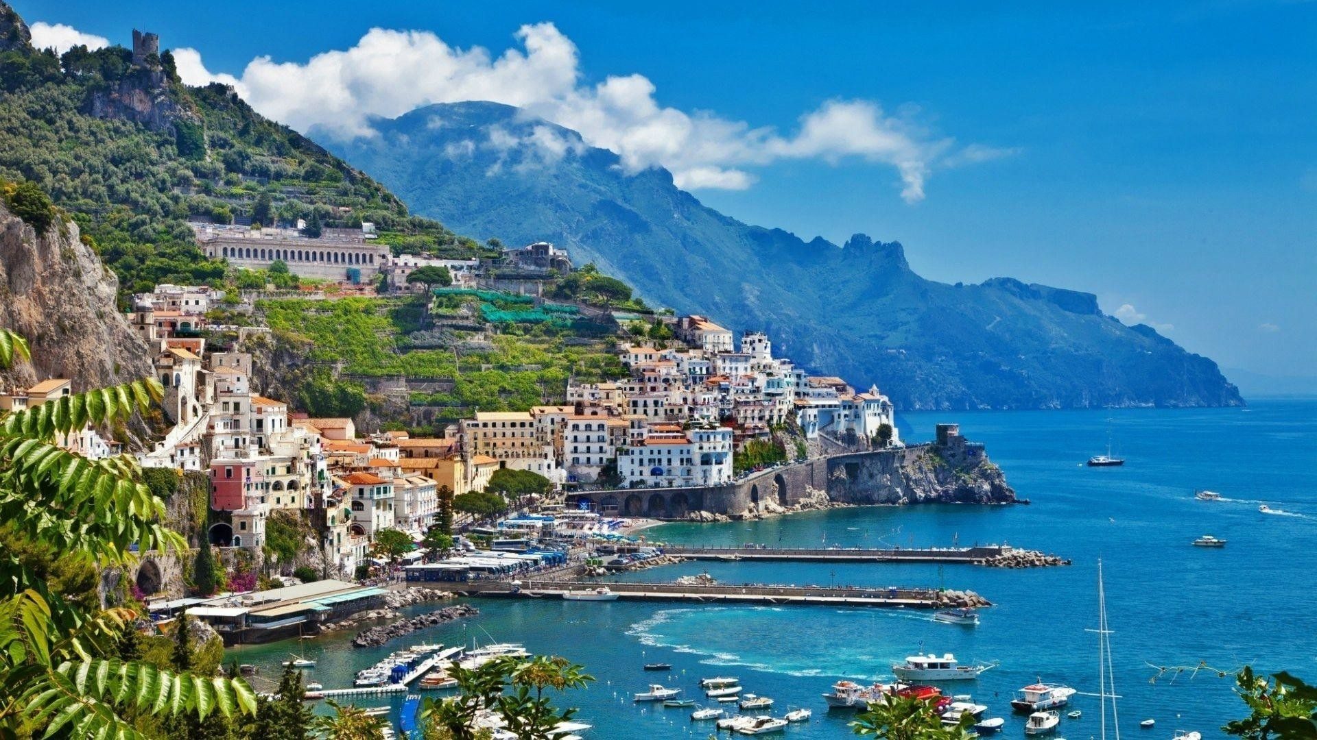 Amalfi Italy Computer Wallpapers Desktop Backgrounds
