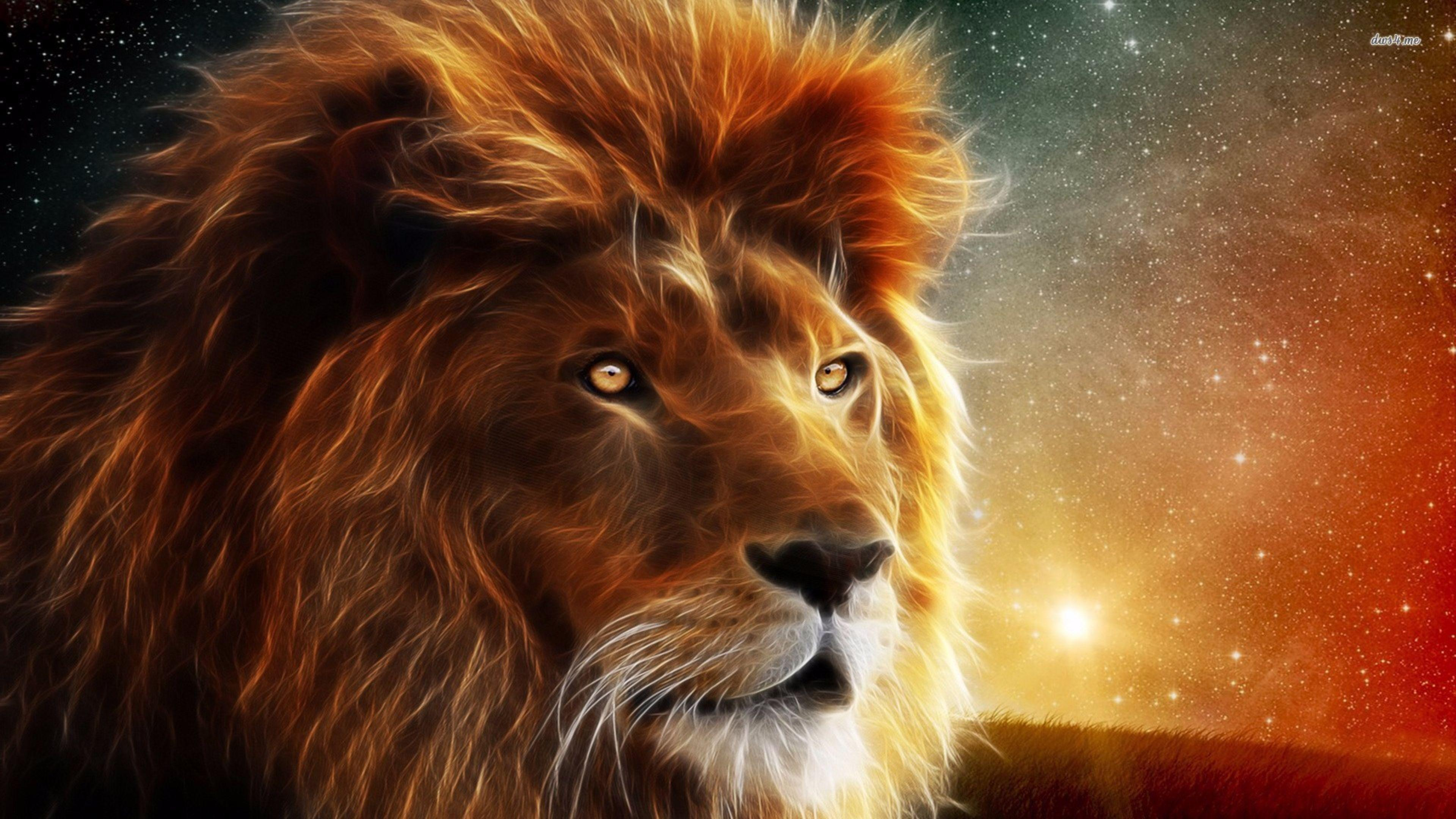Lion Wallpaper 4k - Lion Animal Wallpaper Hd , HD Wallpaper & Backgrounds