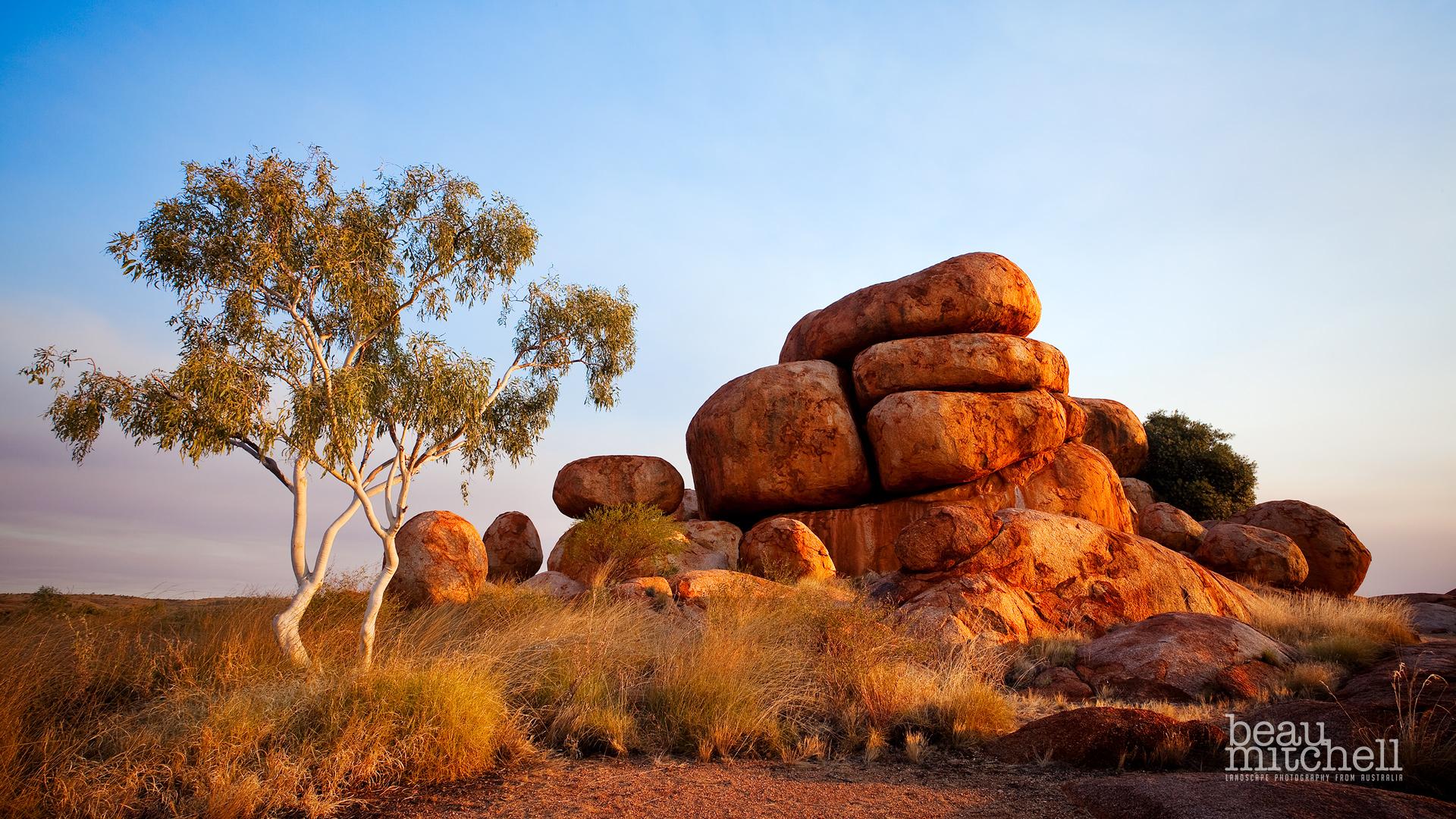 Devil's Marbles National Park, Northern Territory, - Australian Landscape , HD Wallpaper & Backgrounds