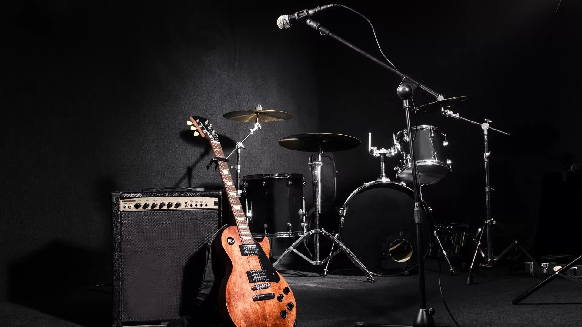 1920x1080, Herunterladen - Set Of Musical Instruments , HD Wallpaper & Backgrounds