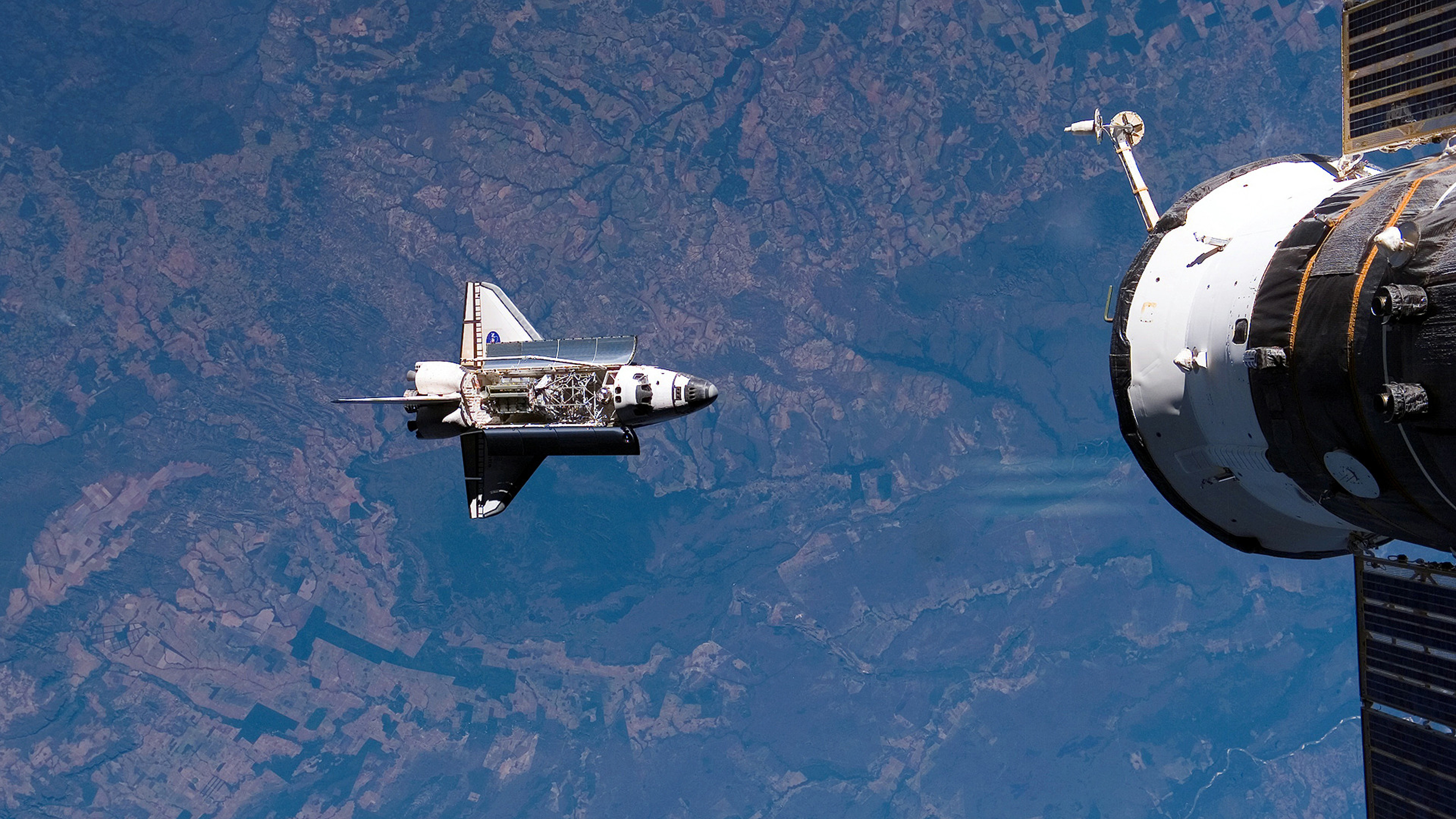 Download Original Resolution - Hd Wallpapers Of Space Shuttle , HD Wallpaper & Backgrounds