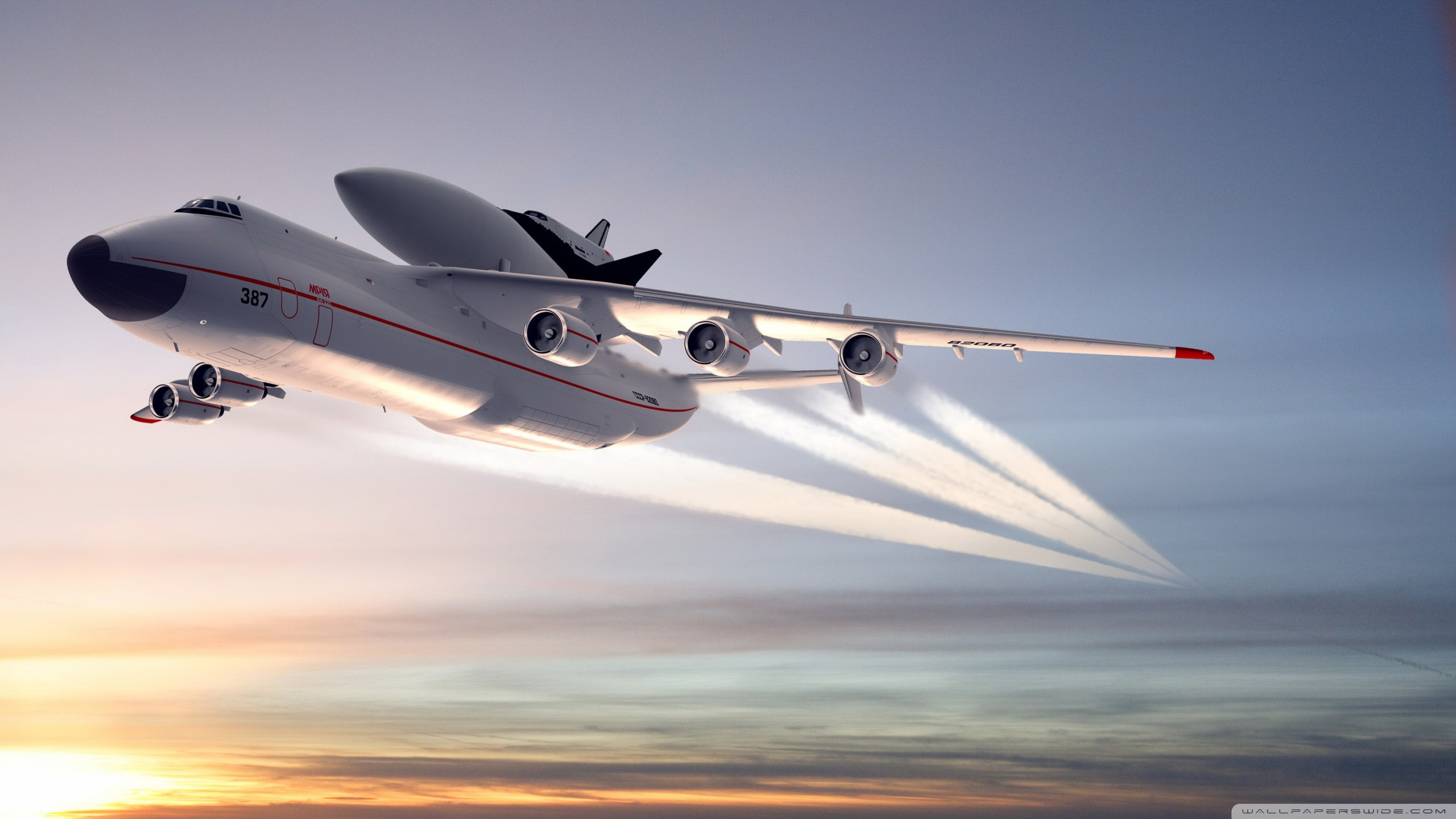 Standard - Simpleplanes Antonov An 225 , HD Wallpaper & Backgrounds