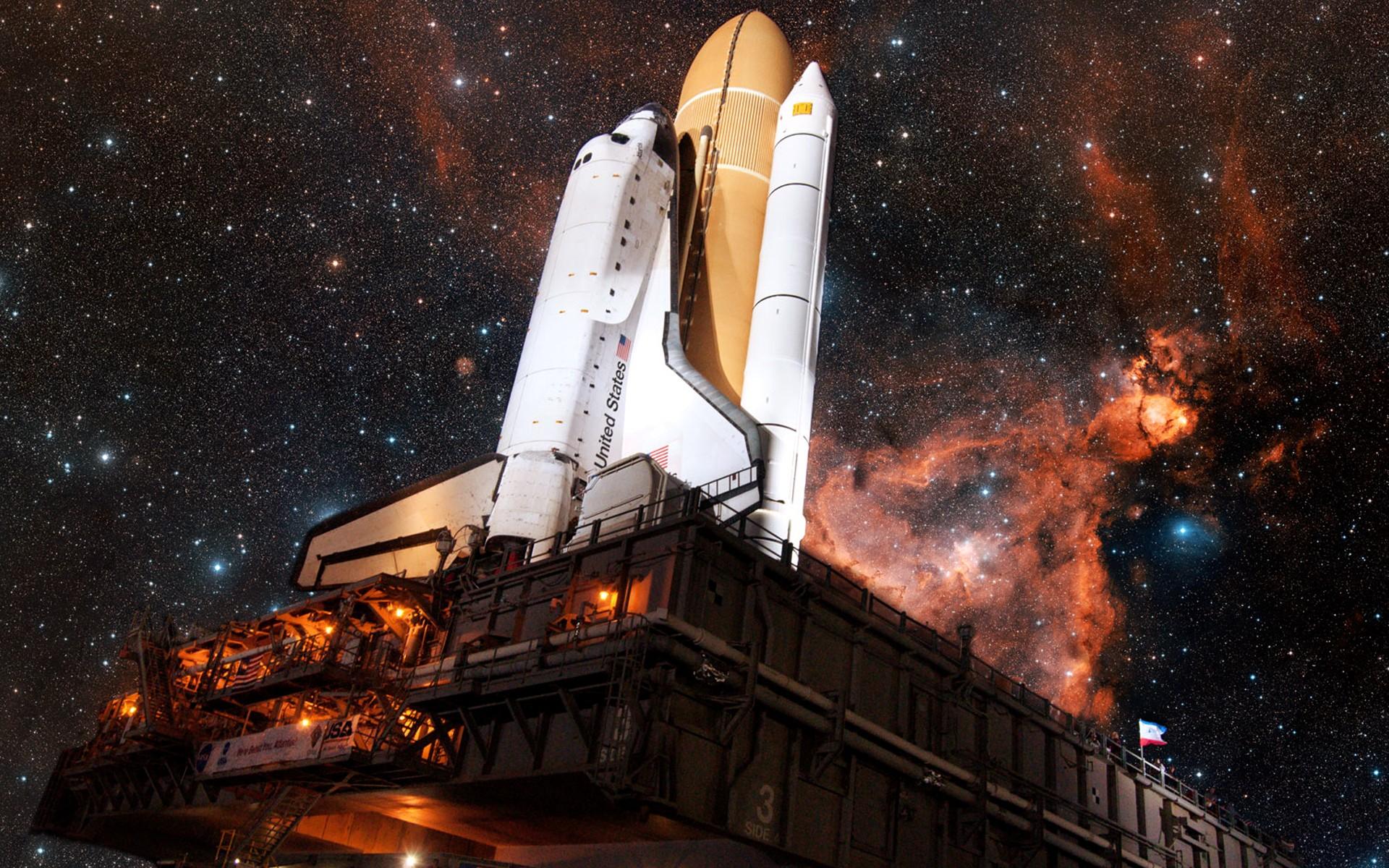 Nasa Space Shuttle Launch Pad Hd Wallpaper - Space Shuttle , HD Wallpaper & Backgrounds