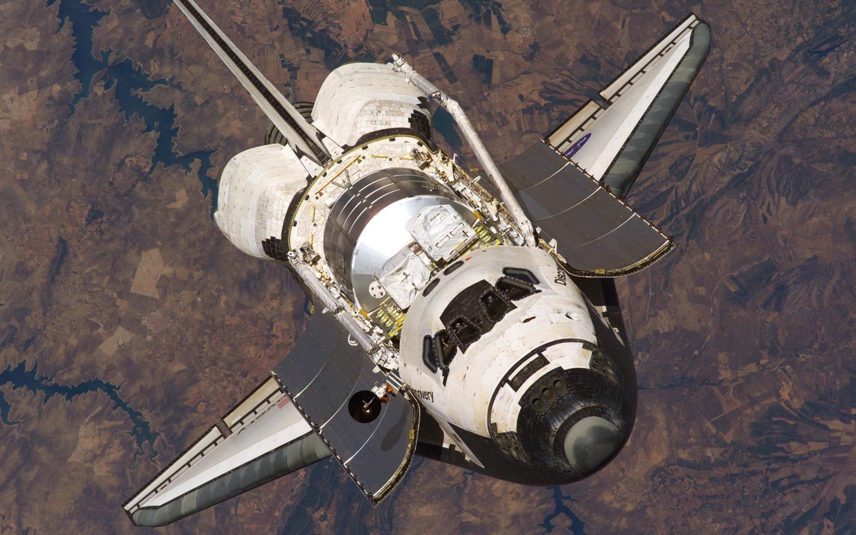 Space Shuttle In Orbit Wallpaper Hd Background 9 Hd - Space Shuttle Payload Bay , HD Wallpaper & Backgrounds