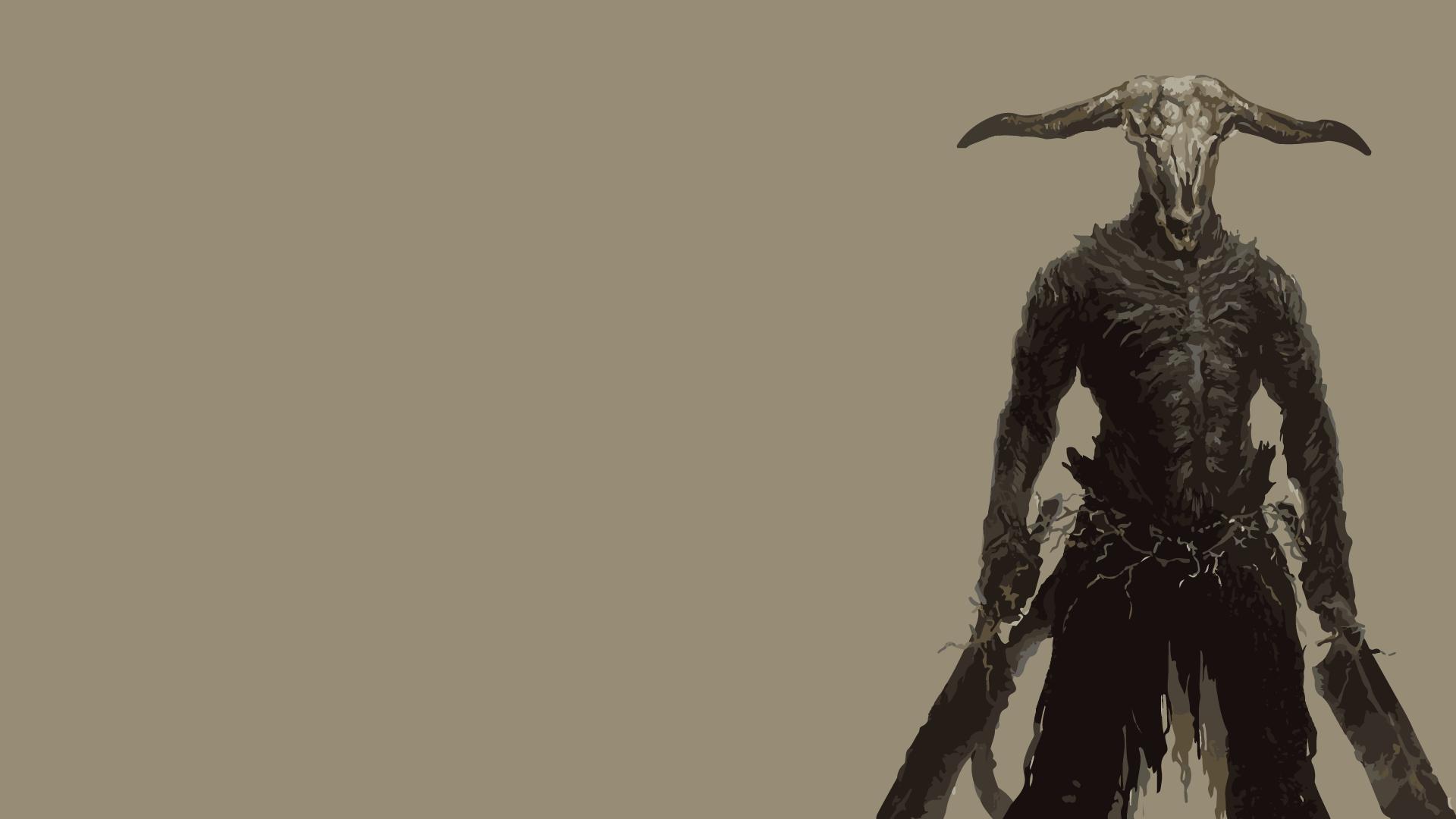 #dark Souls, #fantasy Art, #warrior, #capra Demon, - Dark Souls Capra Demon , HD Wallpaper & Backgrounds