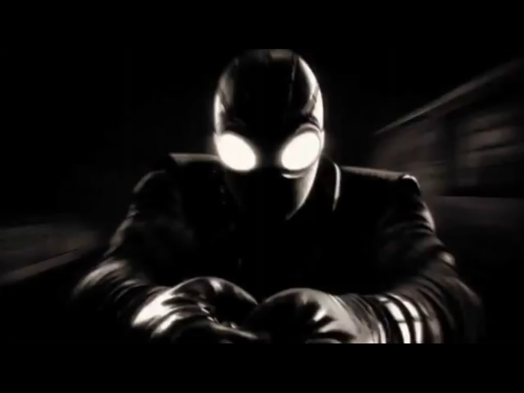 Spider Man Noir Spiderman Shattered Dimension Black And White