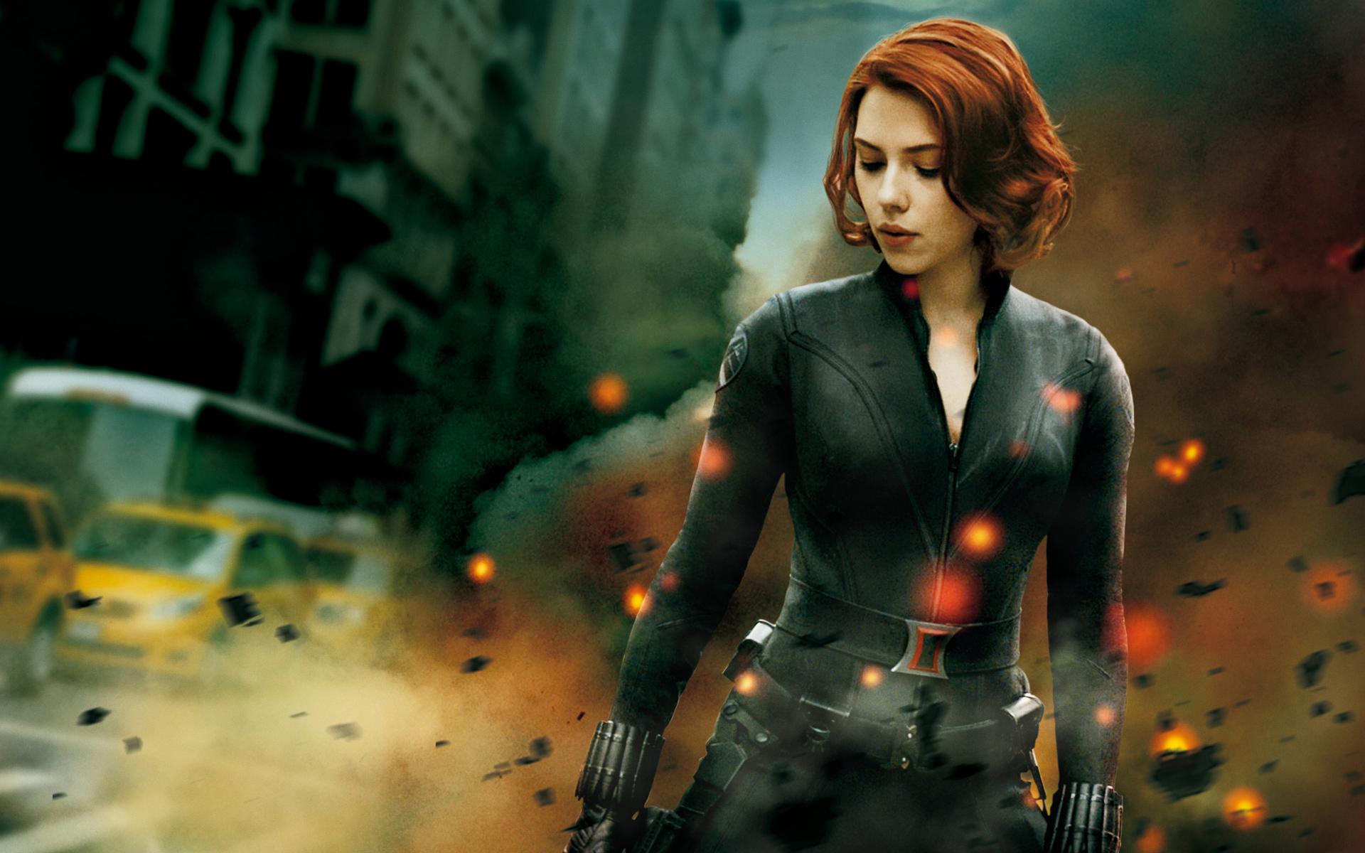 The Avengers Black Widow Wallpaper 1501847 Hd Wallpaper