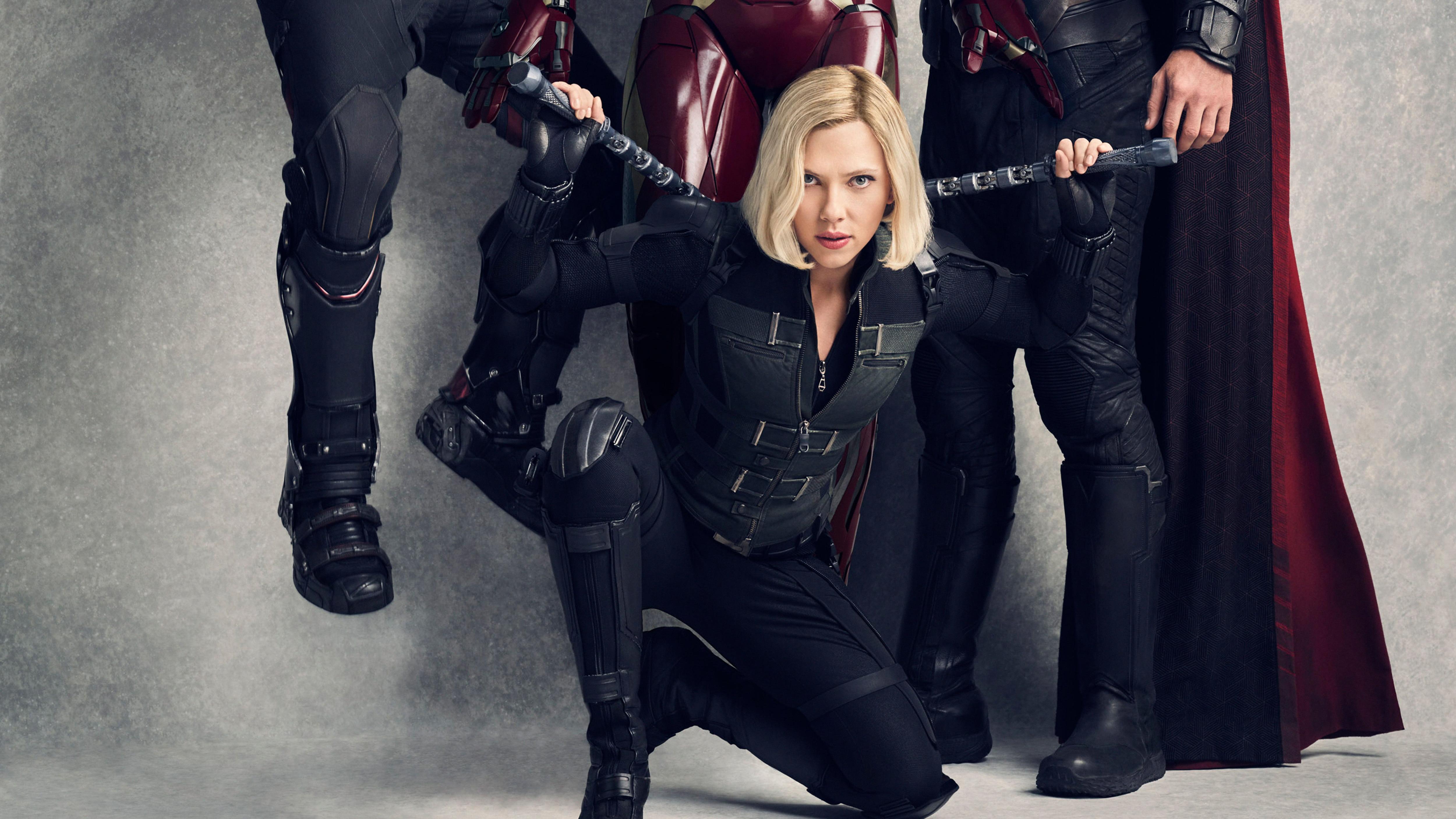 Infinity War Scarlett Johansson Natasha Romanoff Black Widow Infinity War 1502148 Hd Wallpaper Backgrounds Download