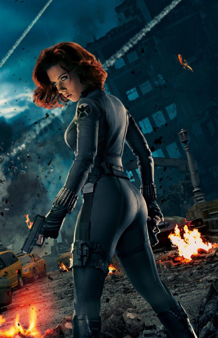 Black Widow Scarlett Johansson Avengers Black Widow Avengers