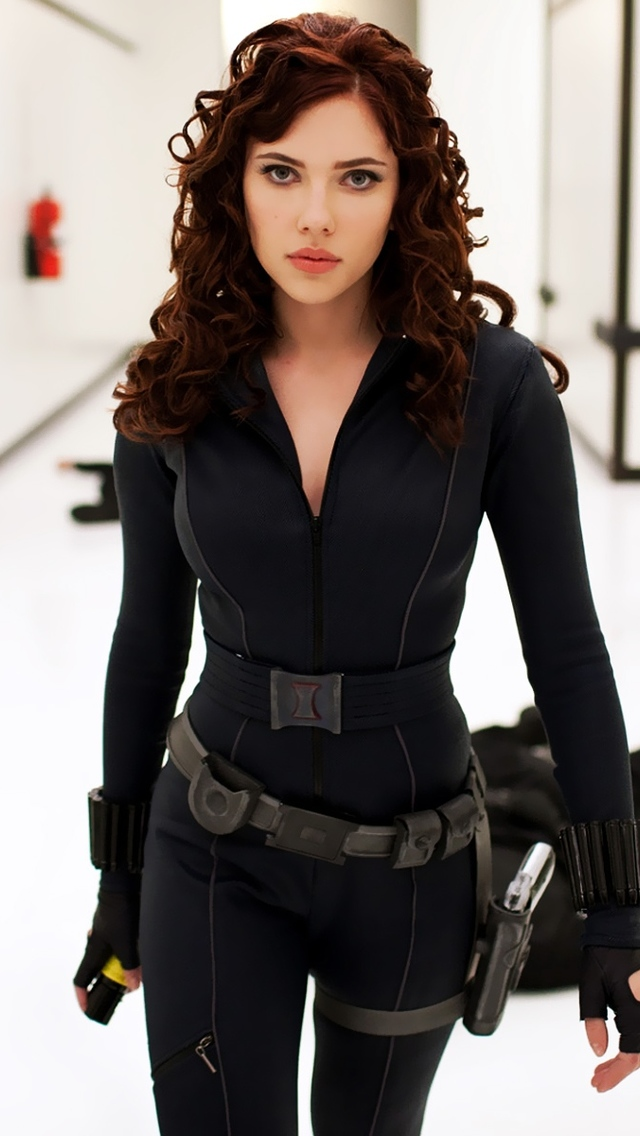 Scarlett Johansson As Black Widow Wallpaper By