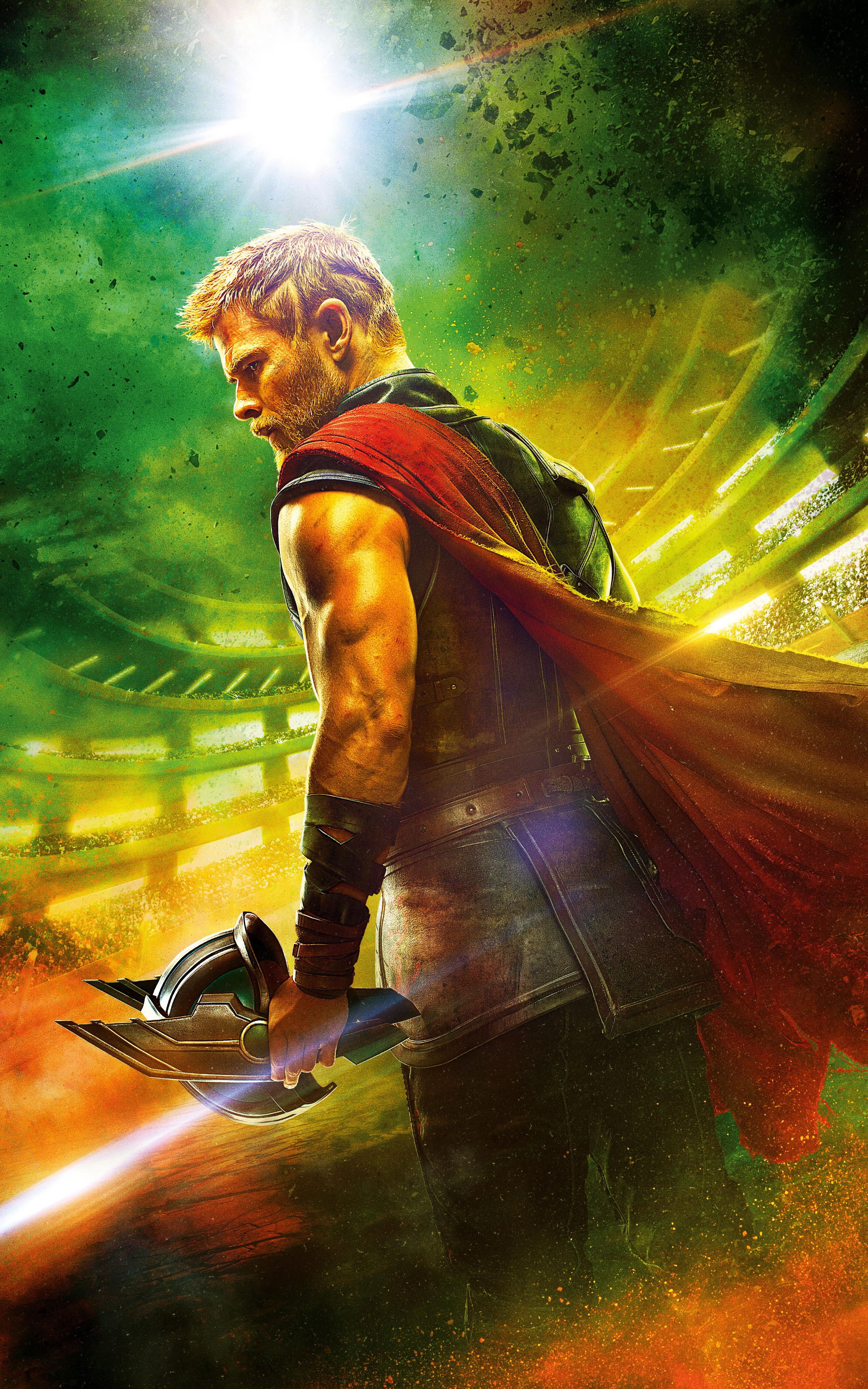 Of Thunder - Thor Ragnarok Wallpaper Phone , HD Wallpaper & Backgrounds