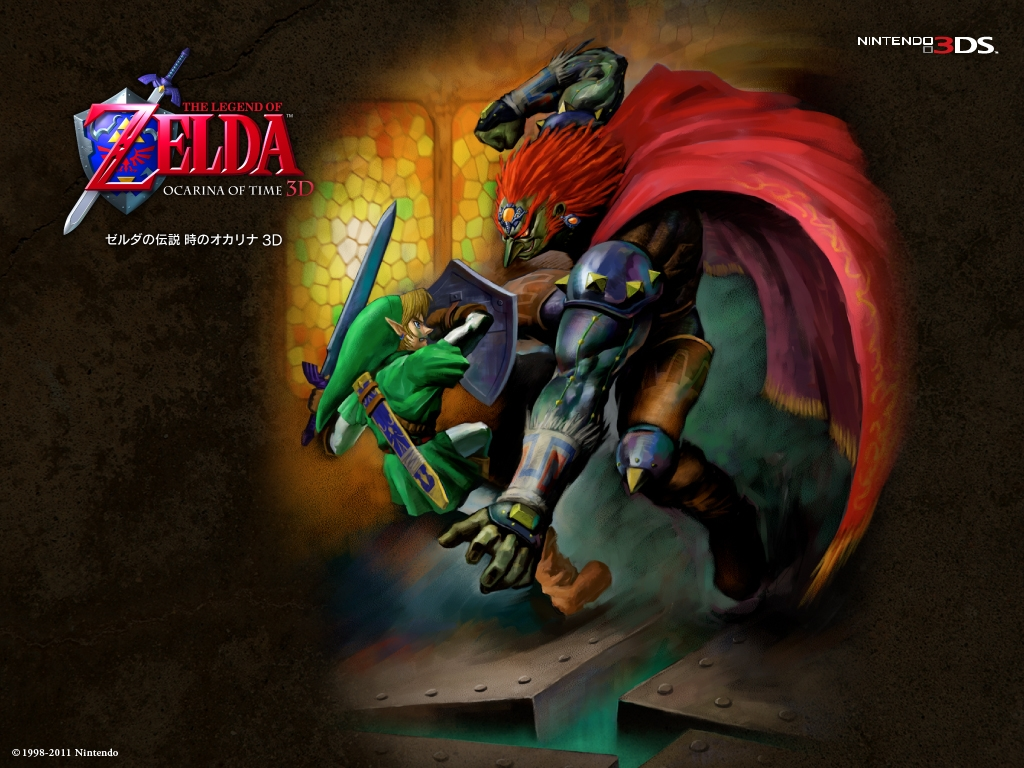 25th Anniversary Wallpapers Zelda Ocarina Of Time Link Vs