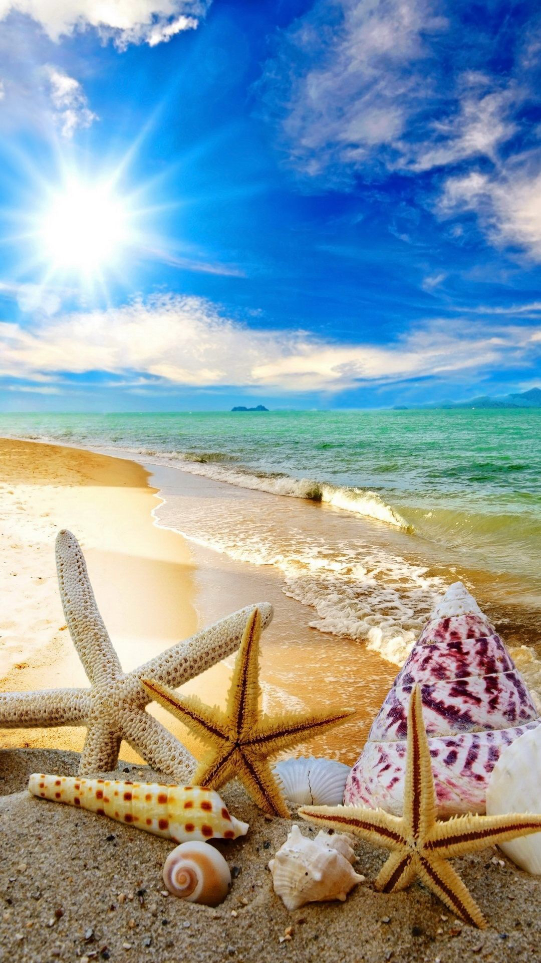 Summer Backgrounds Wallpapers Android Phone Beach