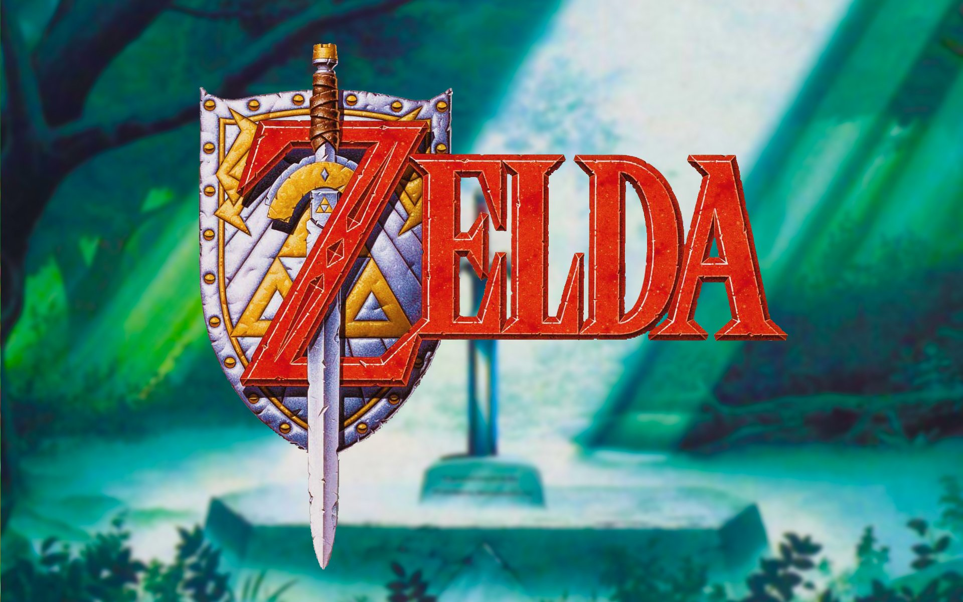 The Legend Of Zelda Sword In The Stone Background 1510287